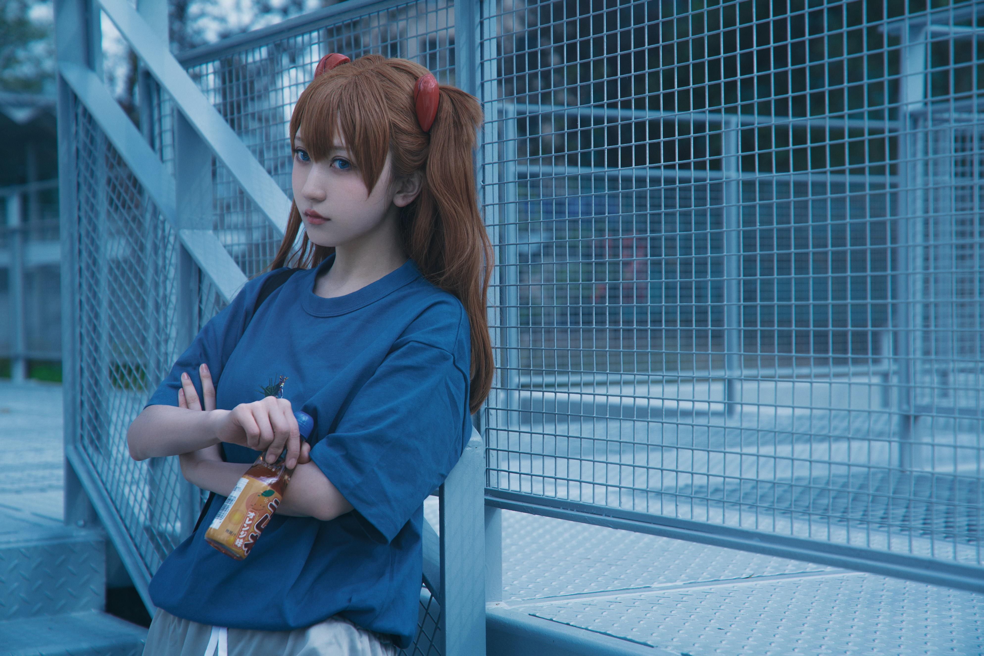 《新世纪福音战士》明日香cosplay【CN:阿凡usagi】-第14张