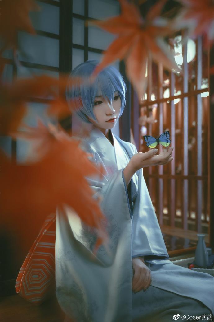 新世纪福音战士   绫波丽   和服   @Coser茜茜 (8P)-第2张
