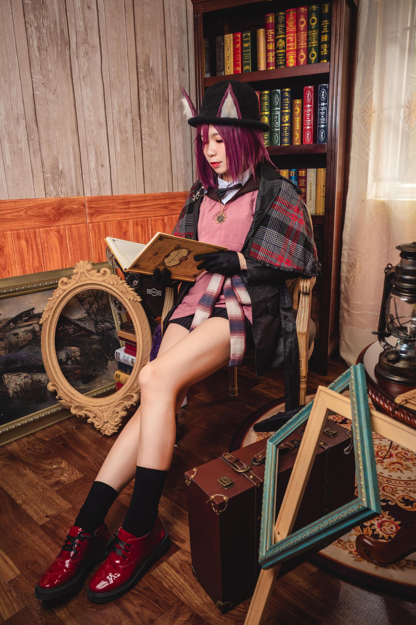 《明日方舟》剑圣cosplay【CN:海鲜君】-第7张