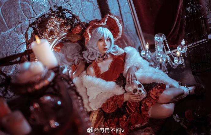 东方project   蕾米莉亚·斯卡雷特   @冉冉不甜v (9P)-第6张
