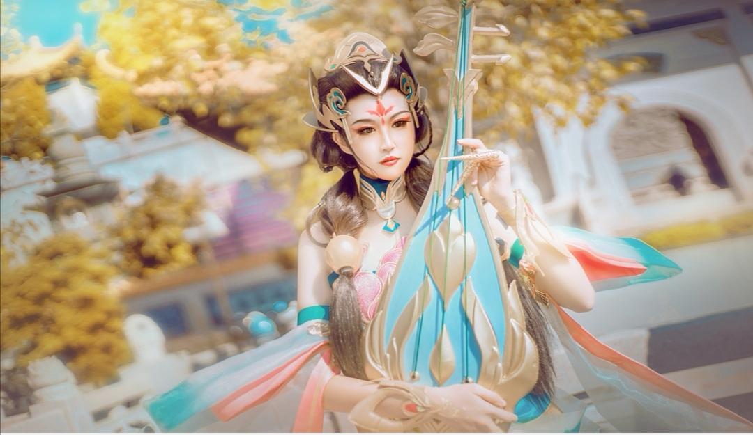《王者荣耀》杨玉环cosplay【CN:寒烟www】-第3张