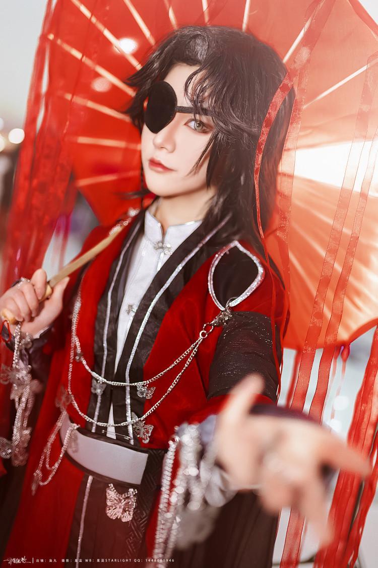 《天官赐福》不敢cosplay【CN:漁丸子不是丸子ヽ】 -谷围南亭cosplay图片插图