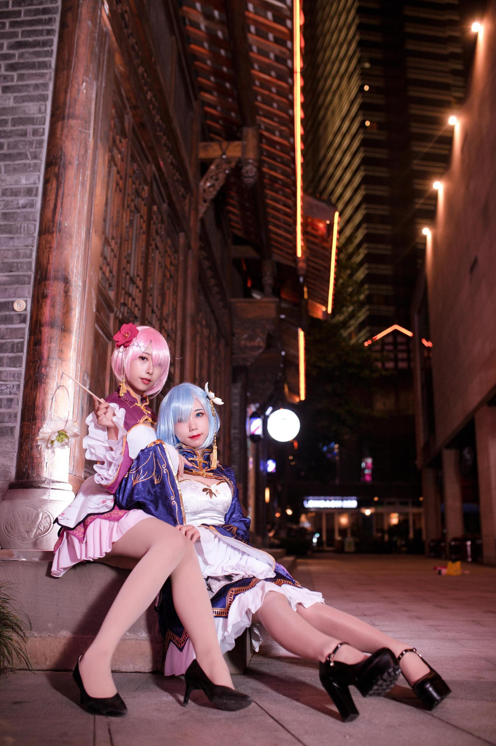 《RE:从零开始的异世界生活》正片cosplay【CN:柒八氿】-第1张