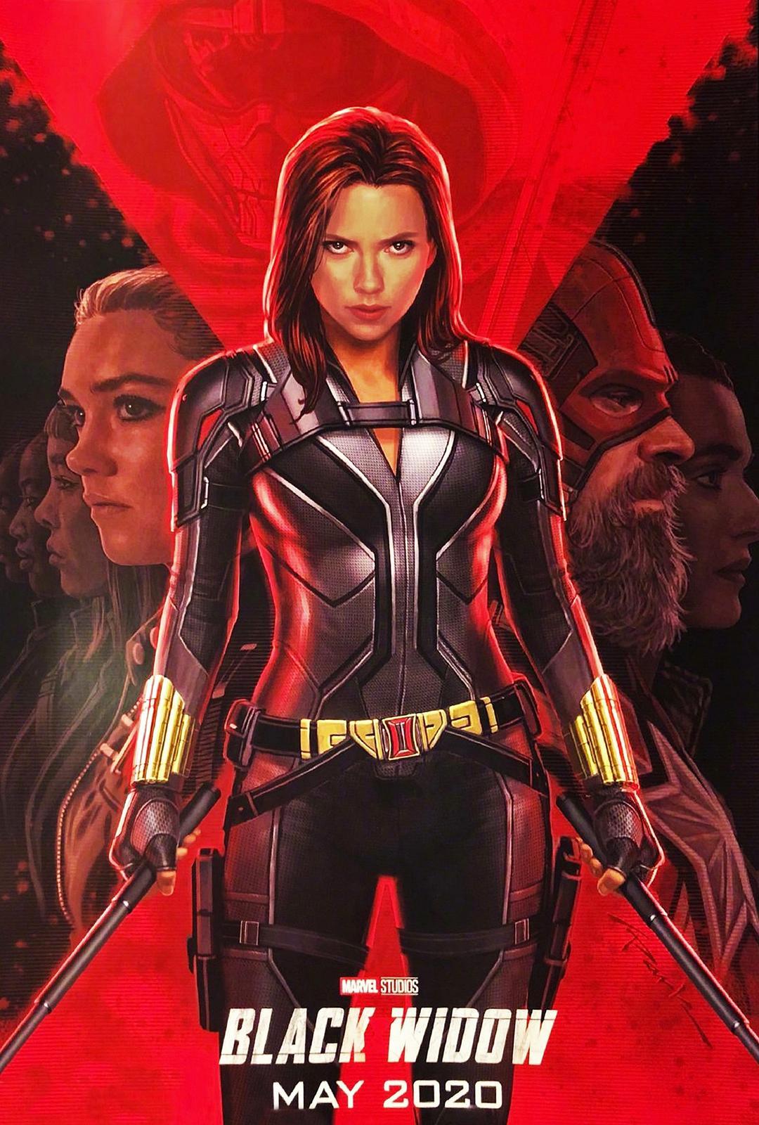 【电影预告】黑寡妇 Black Widow 2021-05-07 美国上映