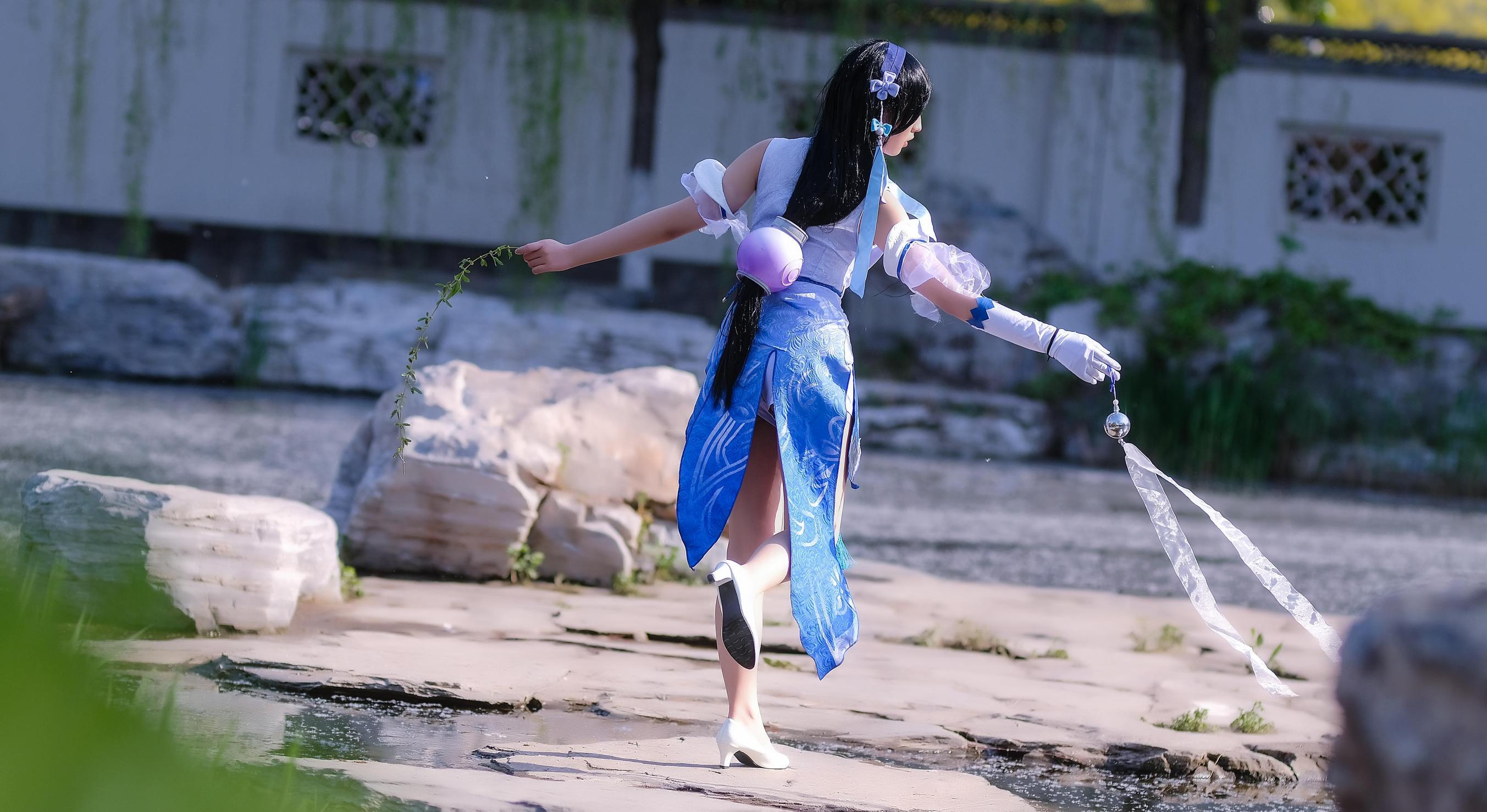 《王者荣耀》王者荣耀西施cosplay【CN:泠泠泠泠泠风】-第7张