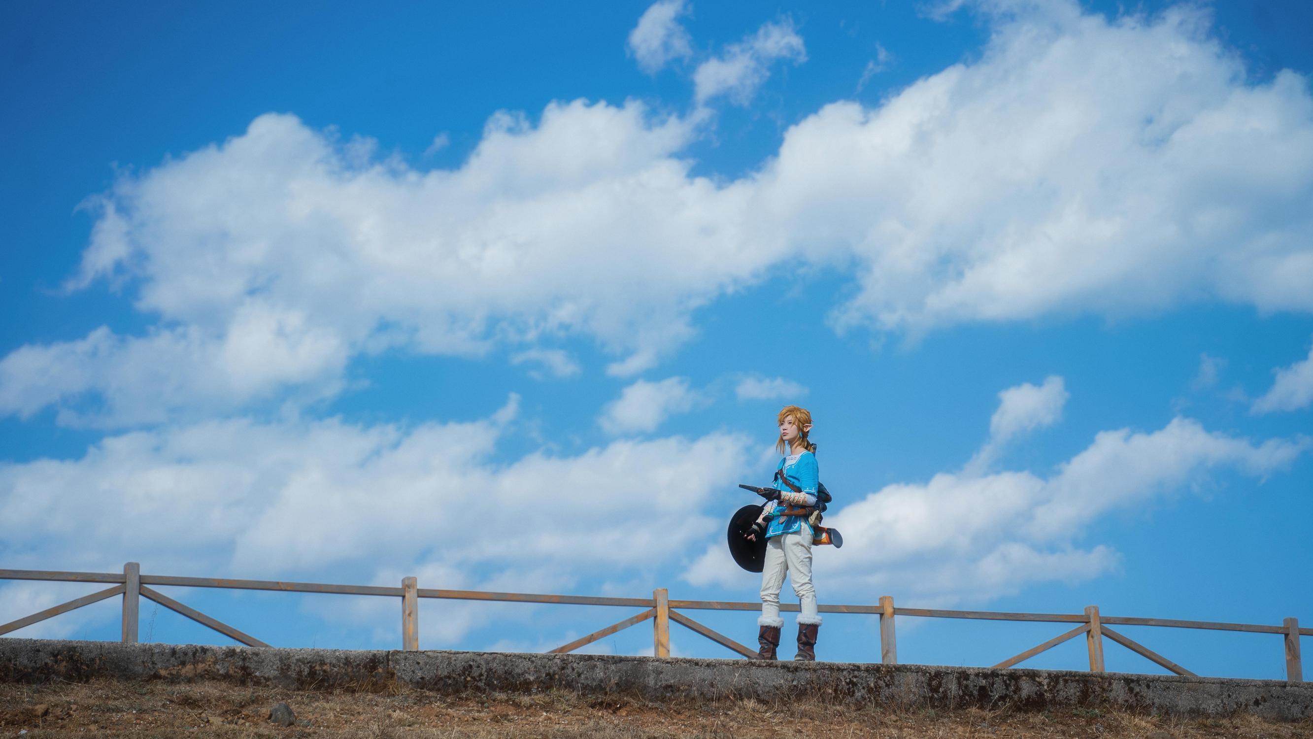 《塞尔达传说》林克cosplay【CN:萝卜汪】-第3张