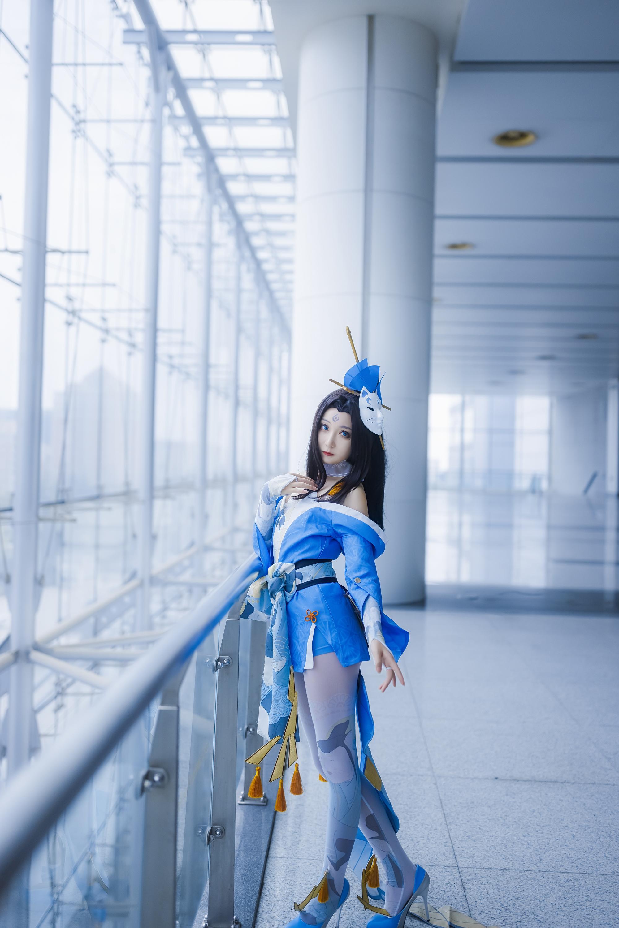 《王者荣耀》不知火舞cosplay【CN:kk蓝璃】-第7张
