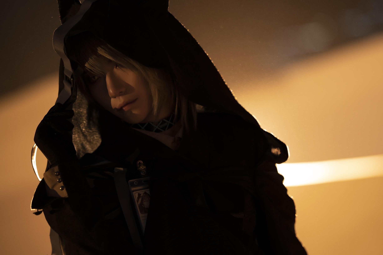 《明日方舟》正片cosplay【CN:斯诺_Yukina】-第22张