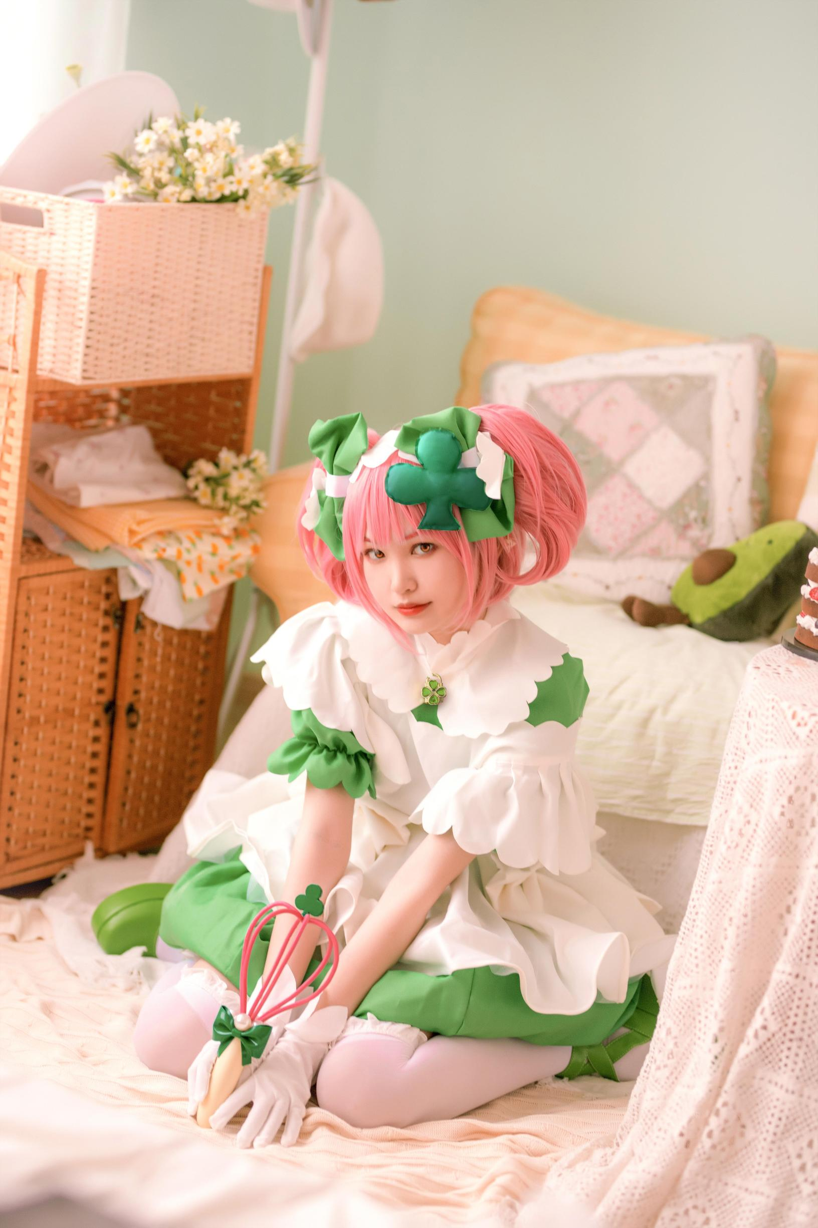 《守护甜心!》王者荣耀王昭君cosplay【CN:酥茶糕】 -水冰月cosplay图片插图
