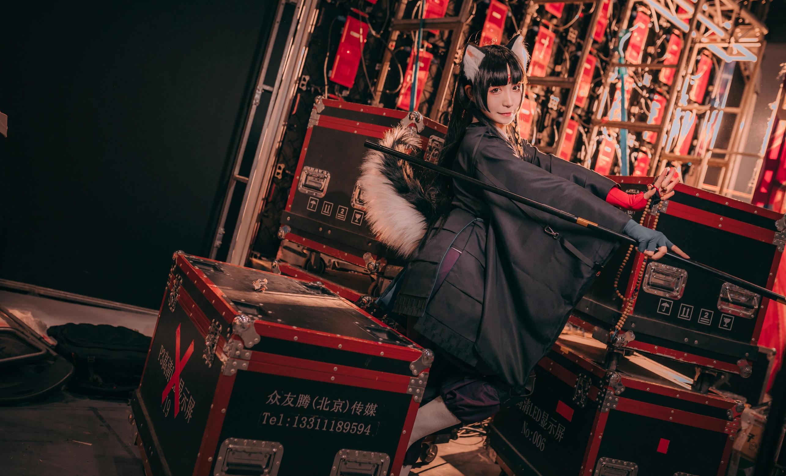 《明日方舟》神还原cosplay【CN:COSER赤瞳_菌】-第3张