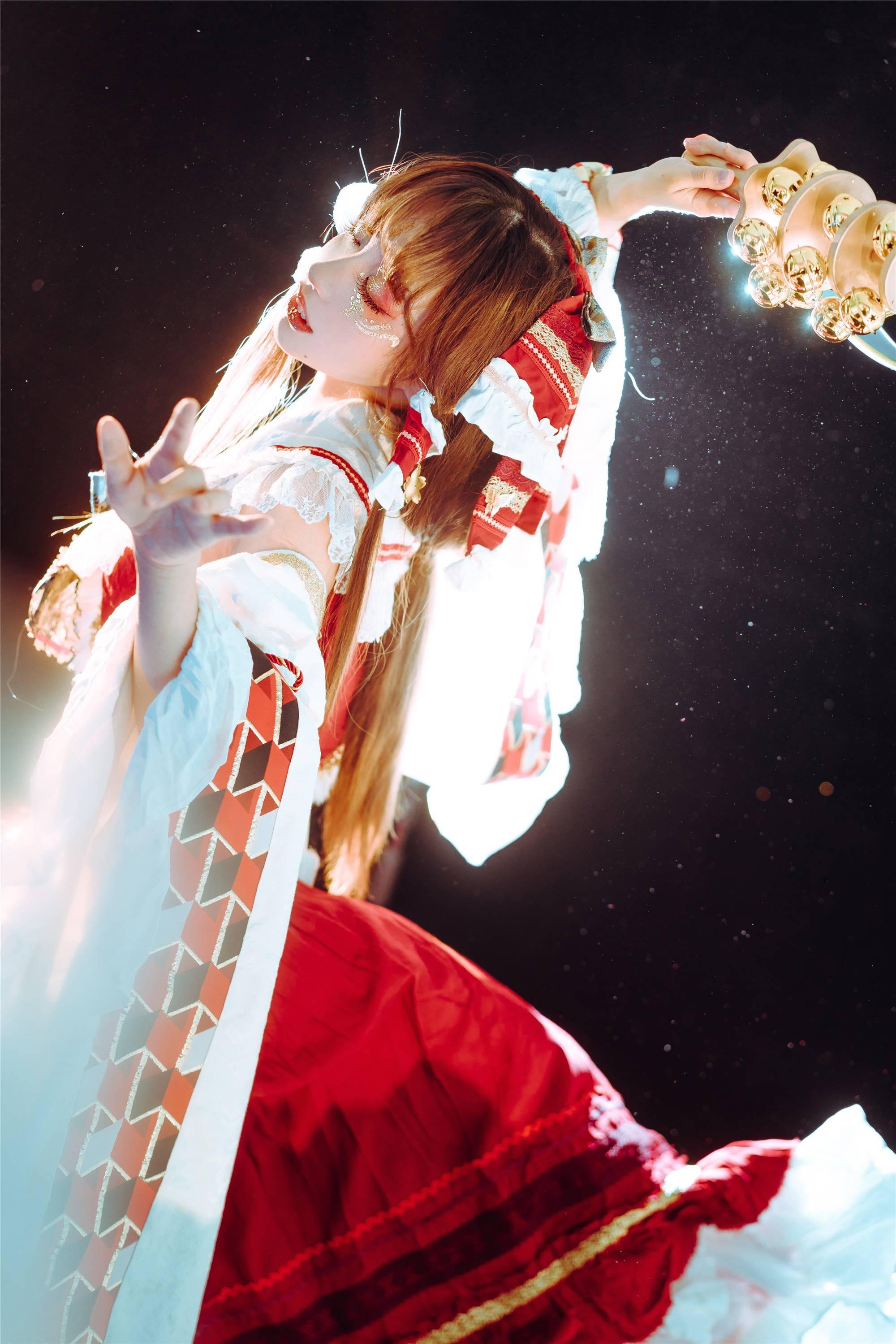 《东方PROJECT》博丽灵梦cosplay【CN:梨梨起床啊】-第1张