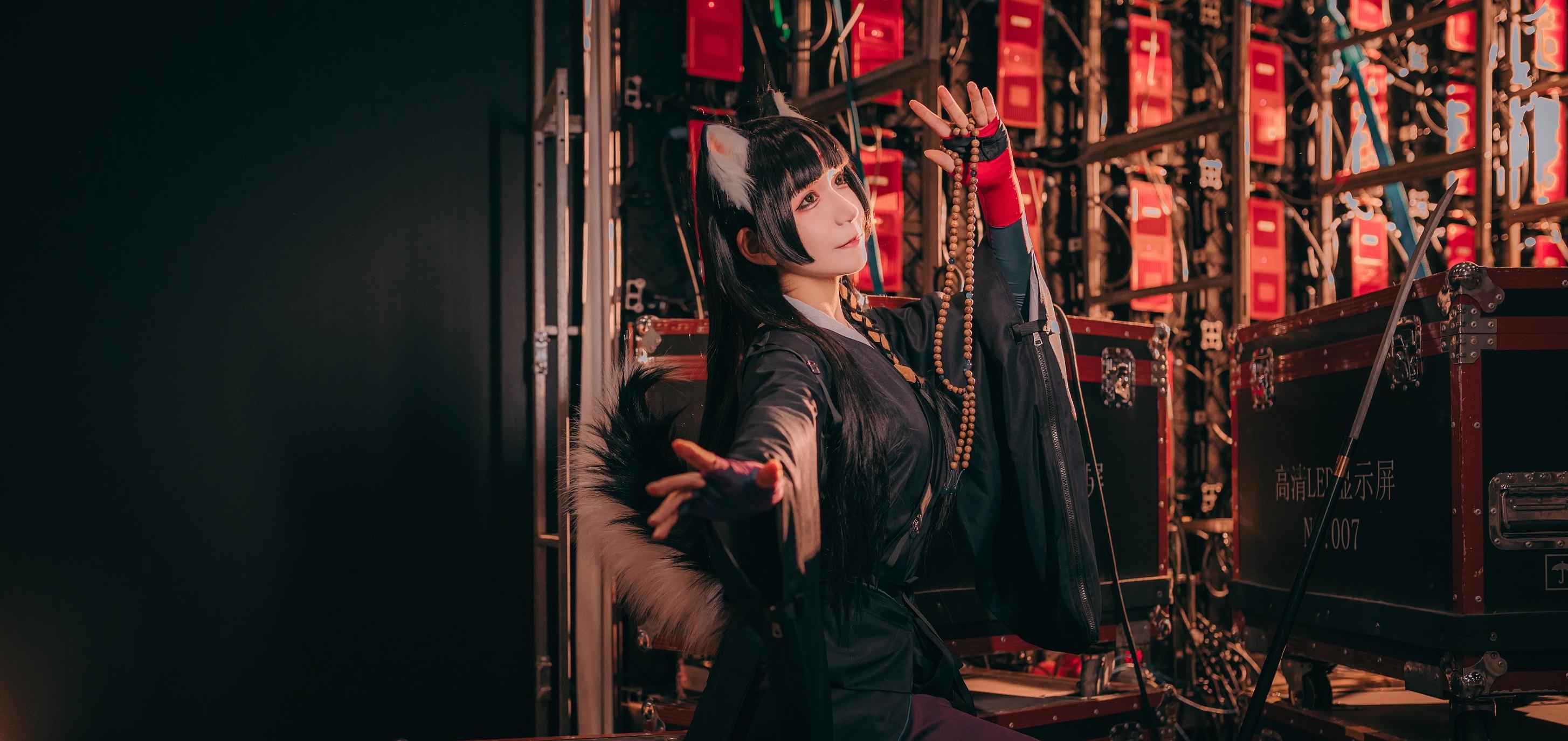 《明日方舟》神还原cosplay【CN:COSER赤瞳_菌】-第2张