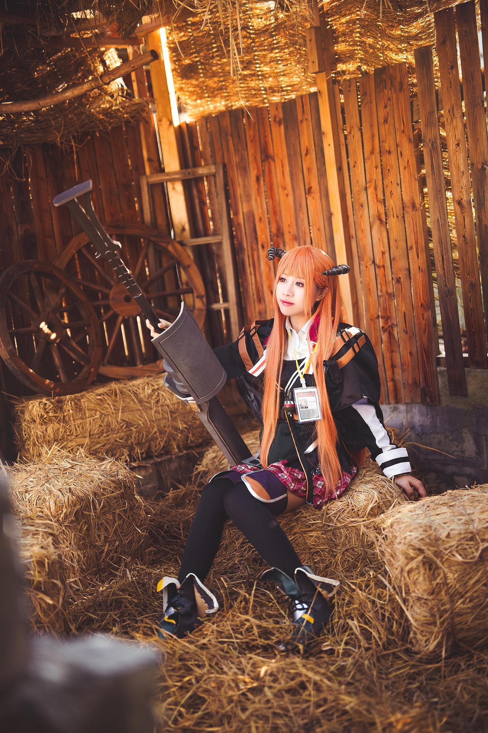 《明日方舟》广州cosplay【CN:春春春子_】-第12张