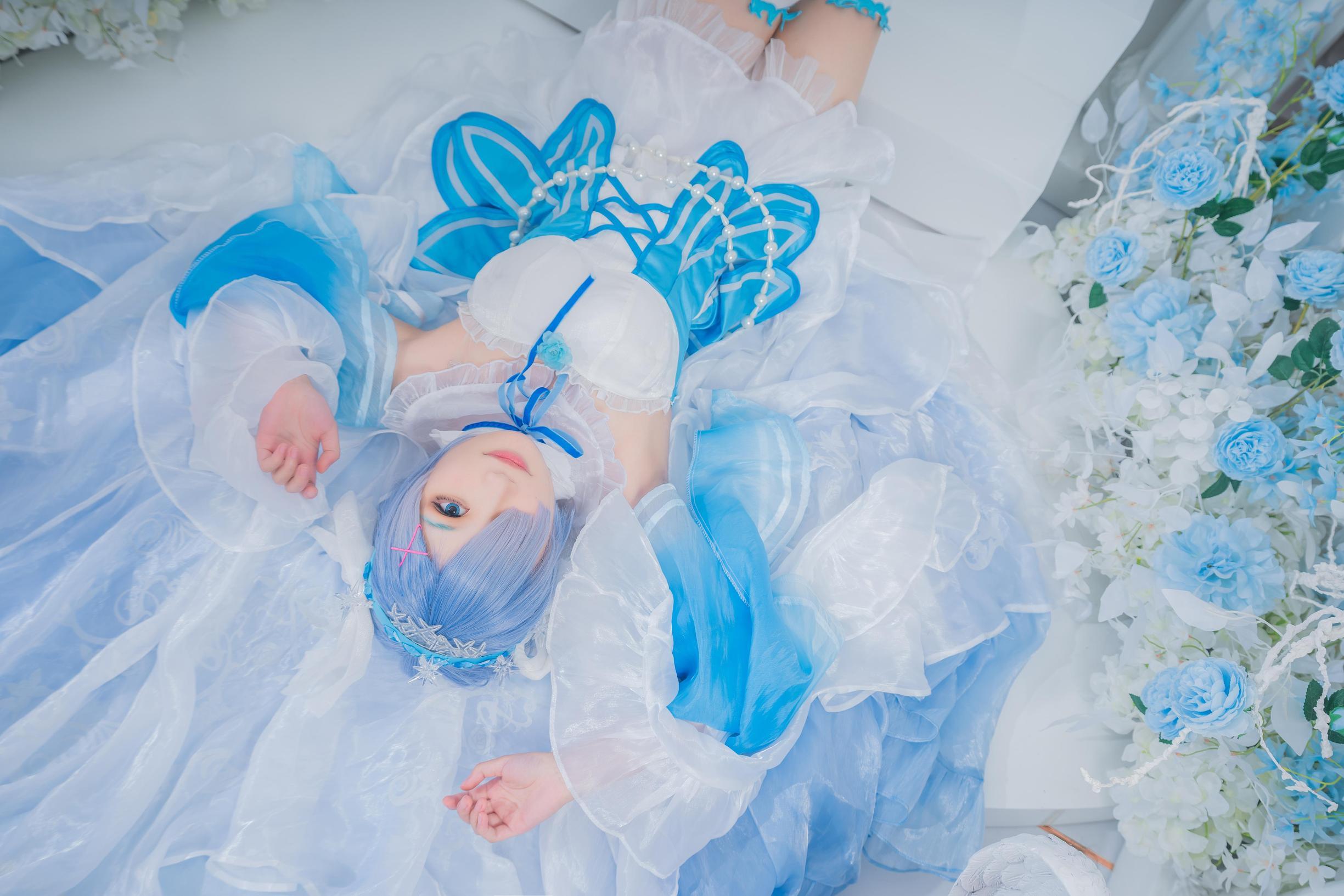 《RE:从零开始的异世界生活》蕾姆cosplay【CN:元素素素素】 -6岁cosplay女装图片插图
