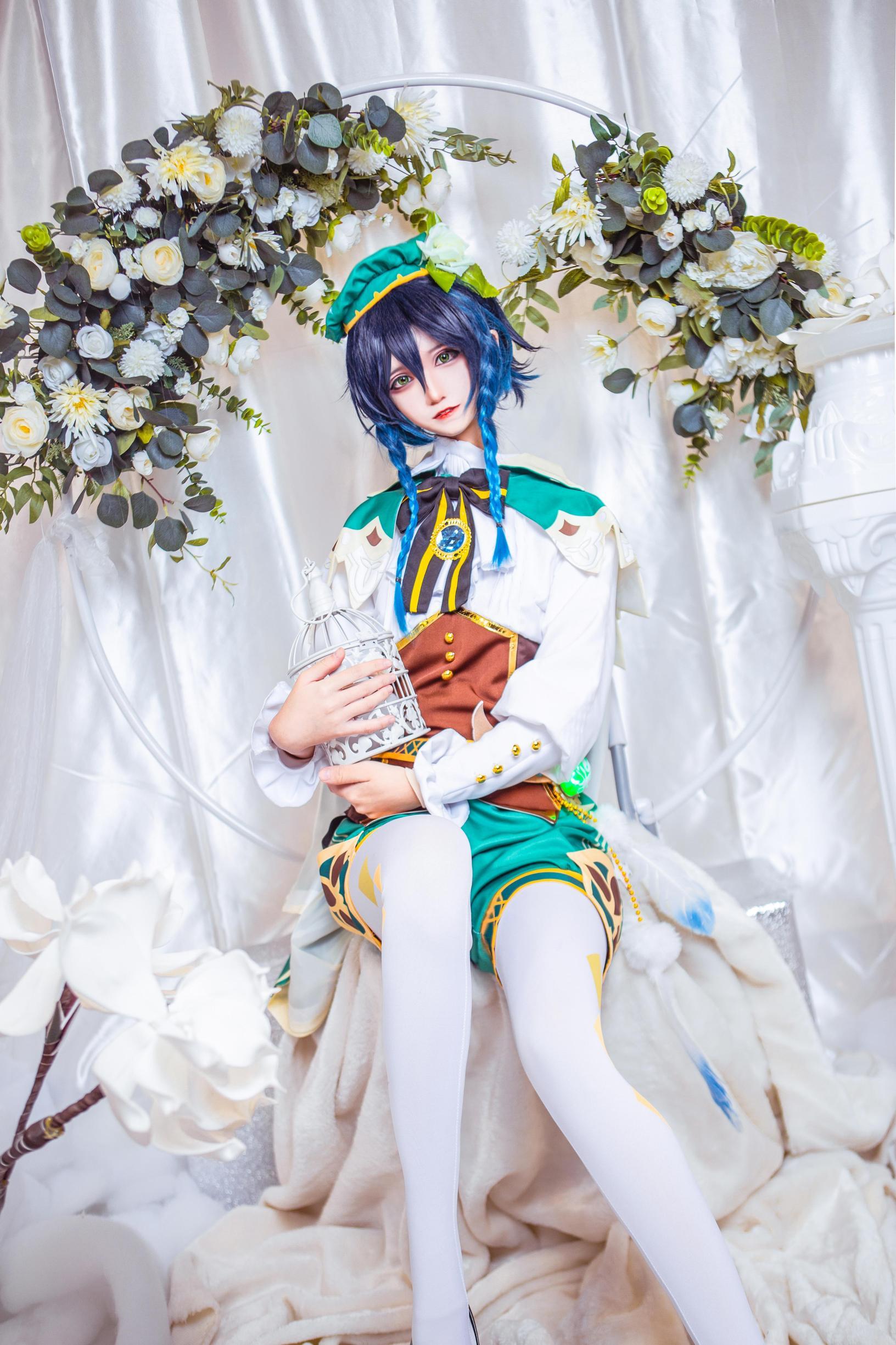 《原神》巴巴托斯cosplay【CN:南千鲤Akirui】-第5张
