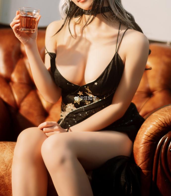 [COS]明日方舟   黑   @汪知子 (9P) -和服cosplay服装图片插图