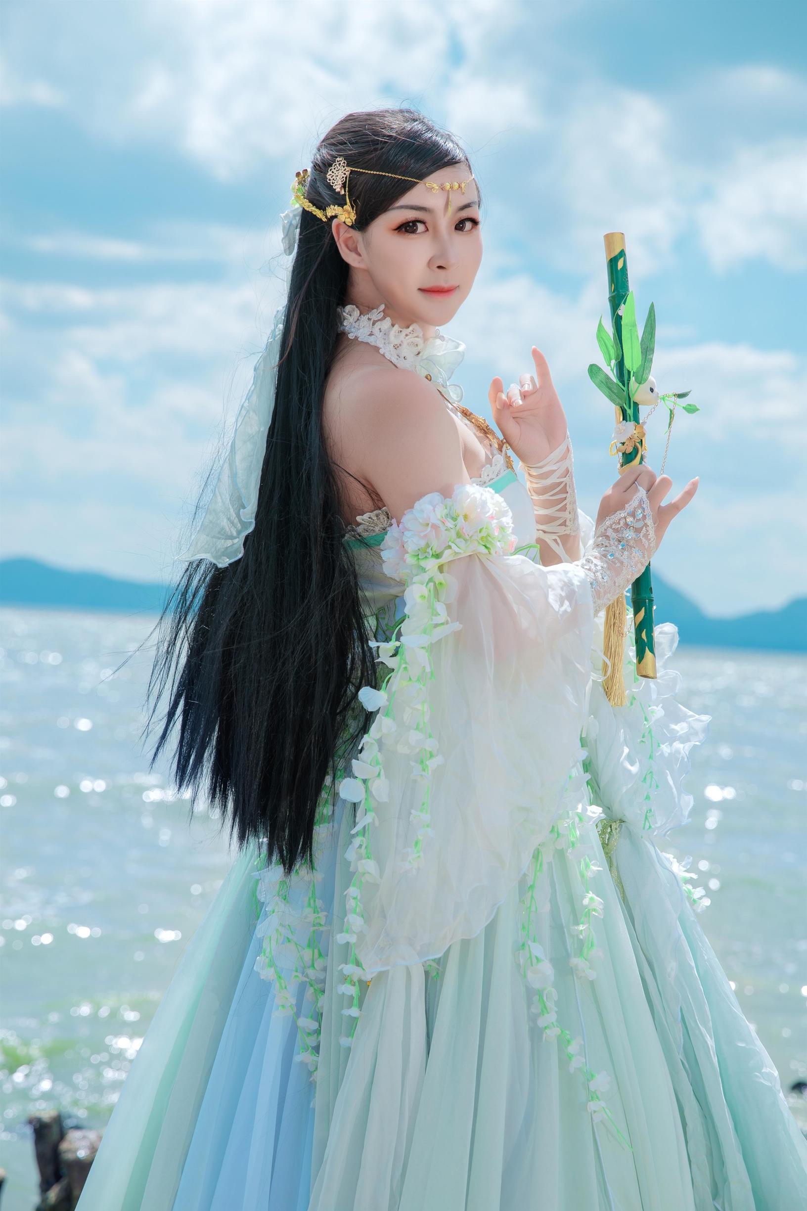 《天涯明月刀OL》古风cosplay【CN:瑶音音】-第8张