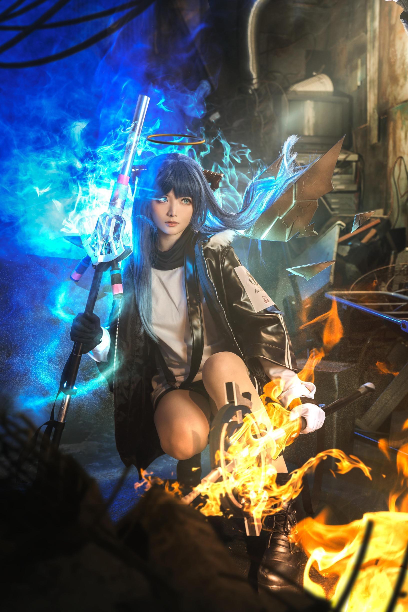 《明日方舟》正片cosplay【CN:roka様】-第3张