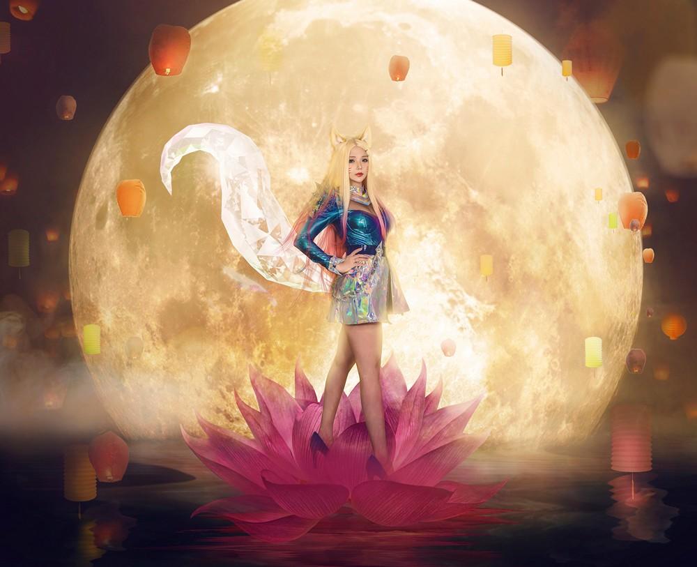 Hana Bunny - K DA All Out Ahri (League of Legends) -第2张