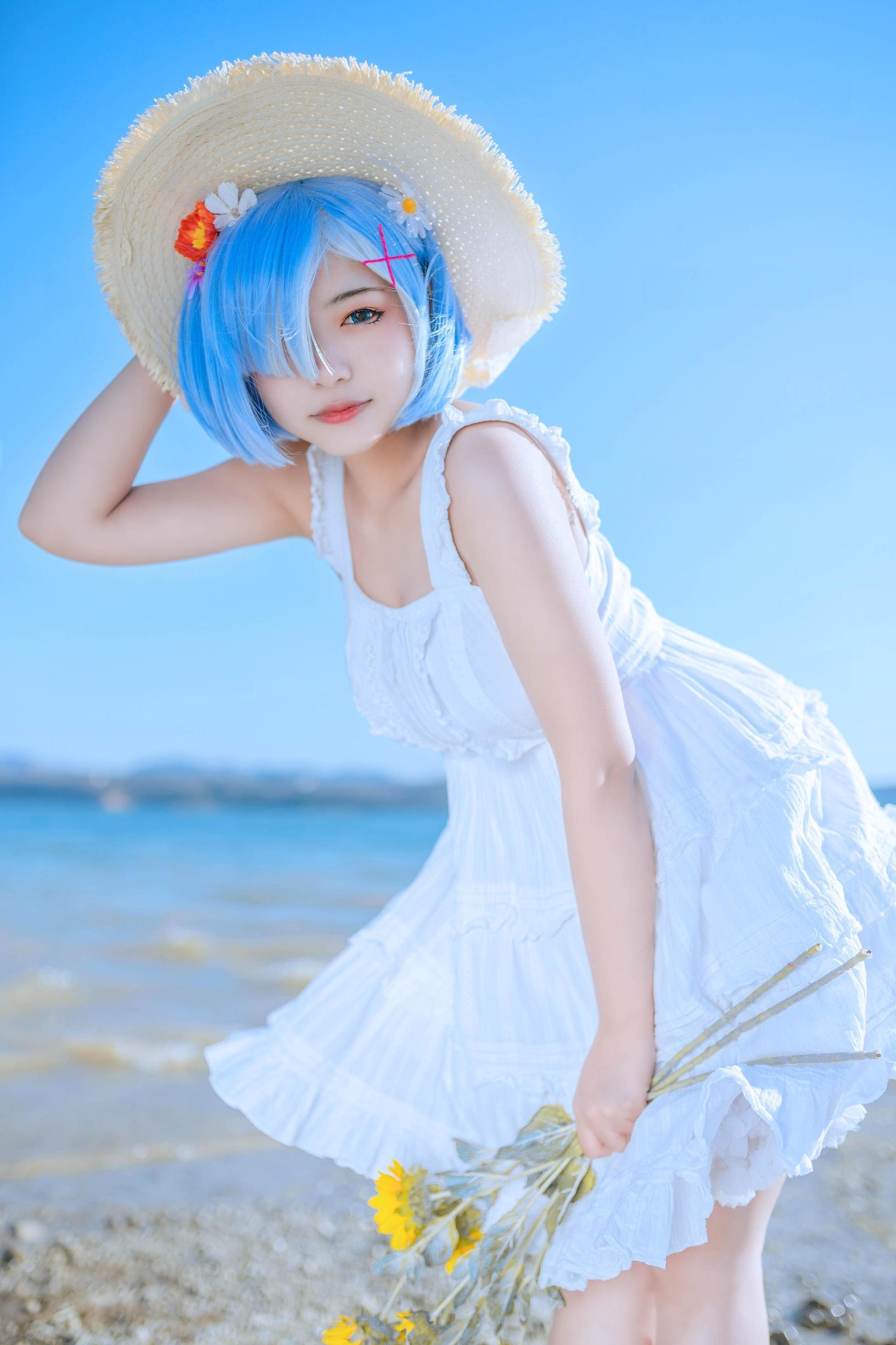 蕾姆cosplay【CN:是三寿呀】 -cosplay和服图片大全插图
