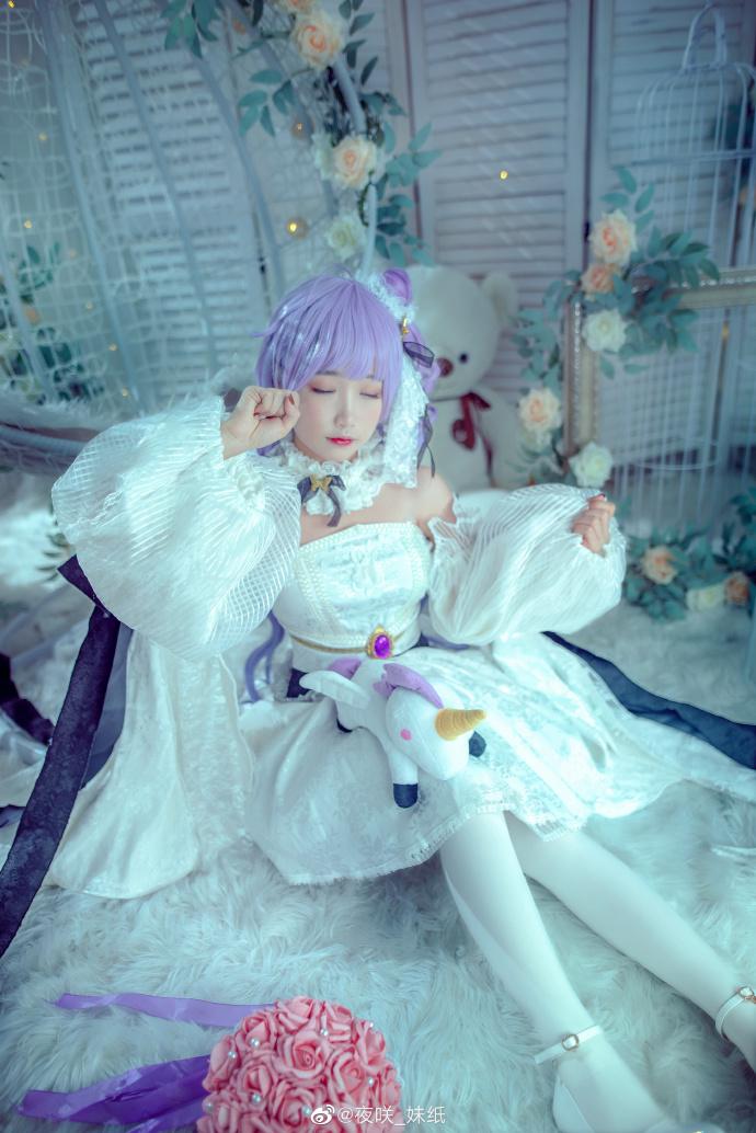 [COS]碧蓝航线   独角兽   @夜咲_妹纸 (9P) -绝地求生cosplay美女图片插图