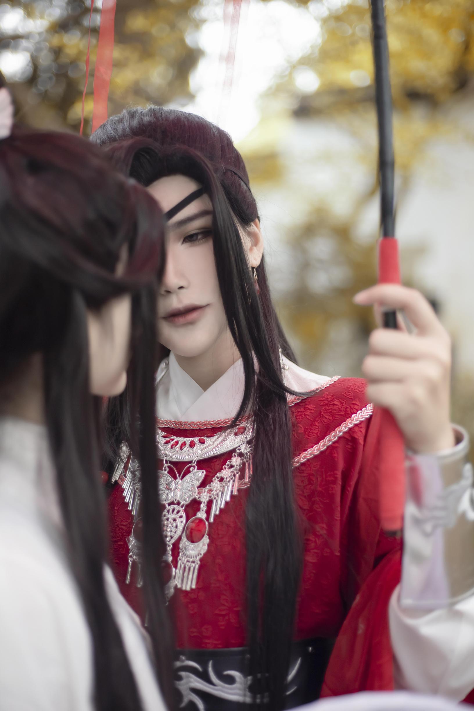 《天官赐福》花怜cosplay【CN:梓白】-第5张