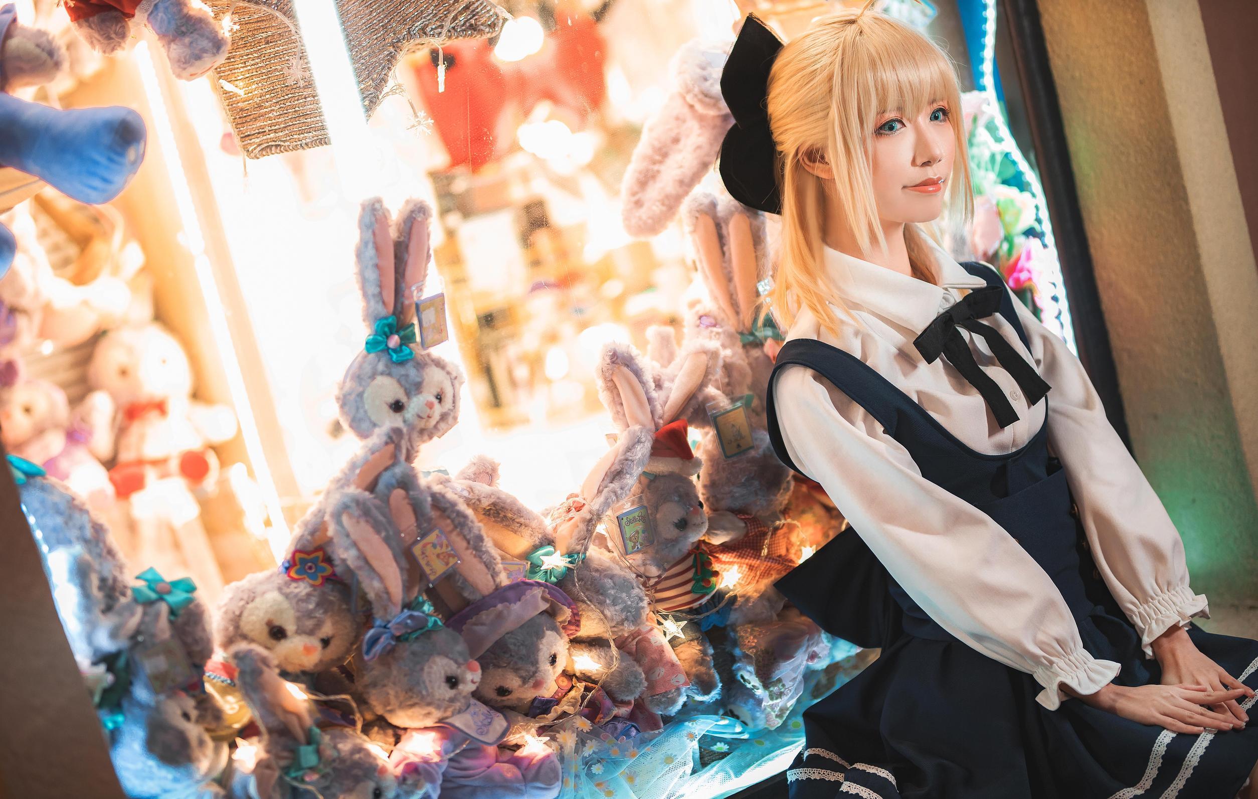 《FATE/GRAND ORDER》正片cosplay【CN:Xxyao】 -涂山雅雅真人cosplay图片插图