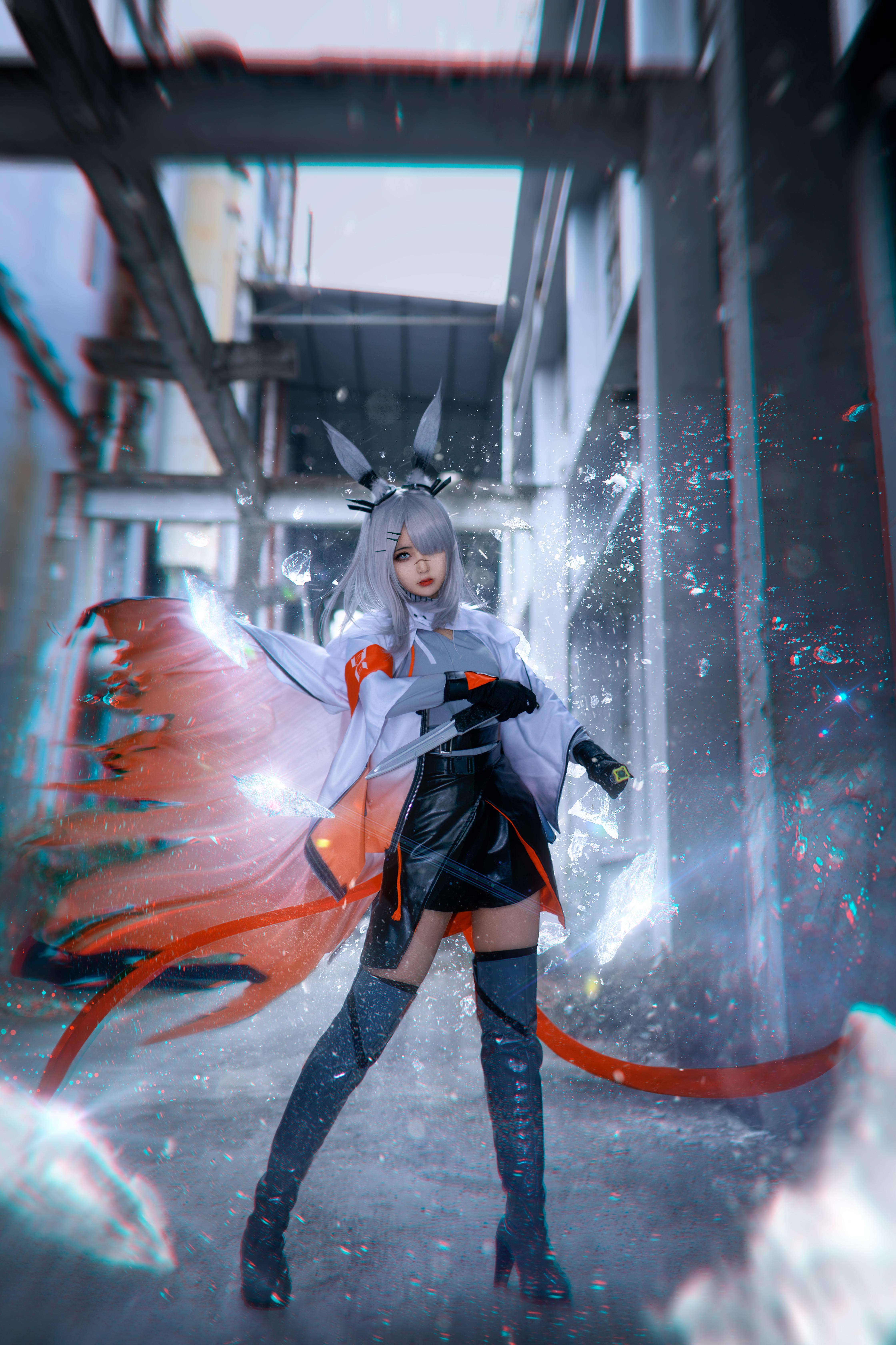 《明日方舟》霜星cosplay【CN:蟹子kaniko】-第3张