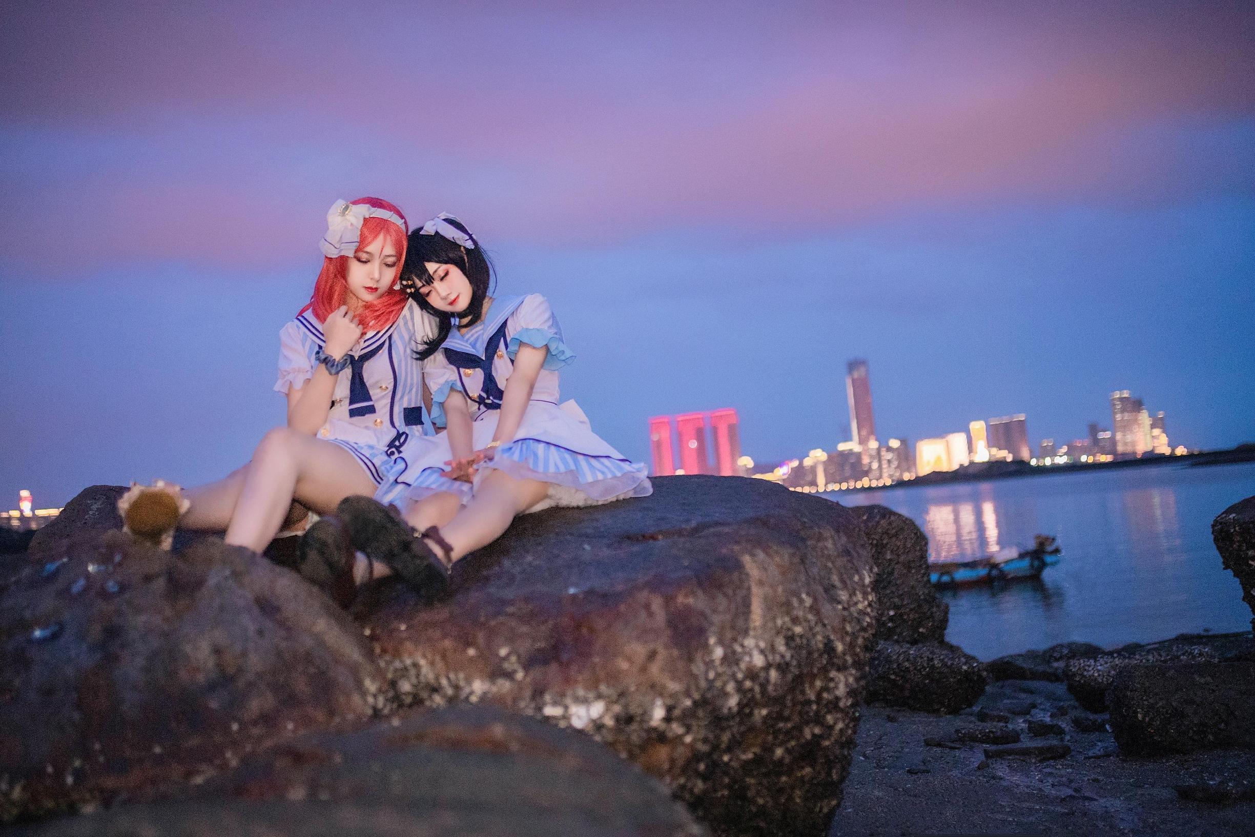 《LOVE LIVE!》正片cosplay【CN:迎风招展的小菊花】 -大乔cosplay图片插图