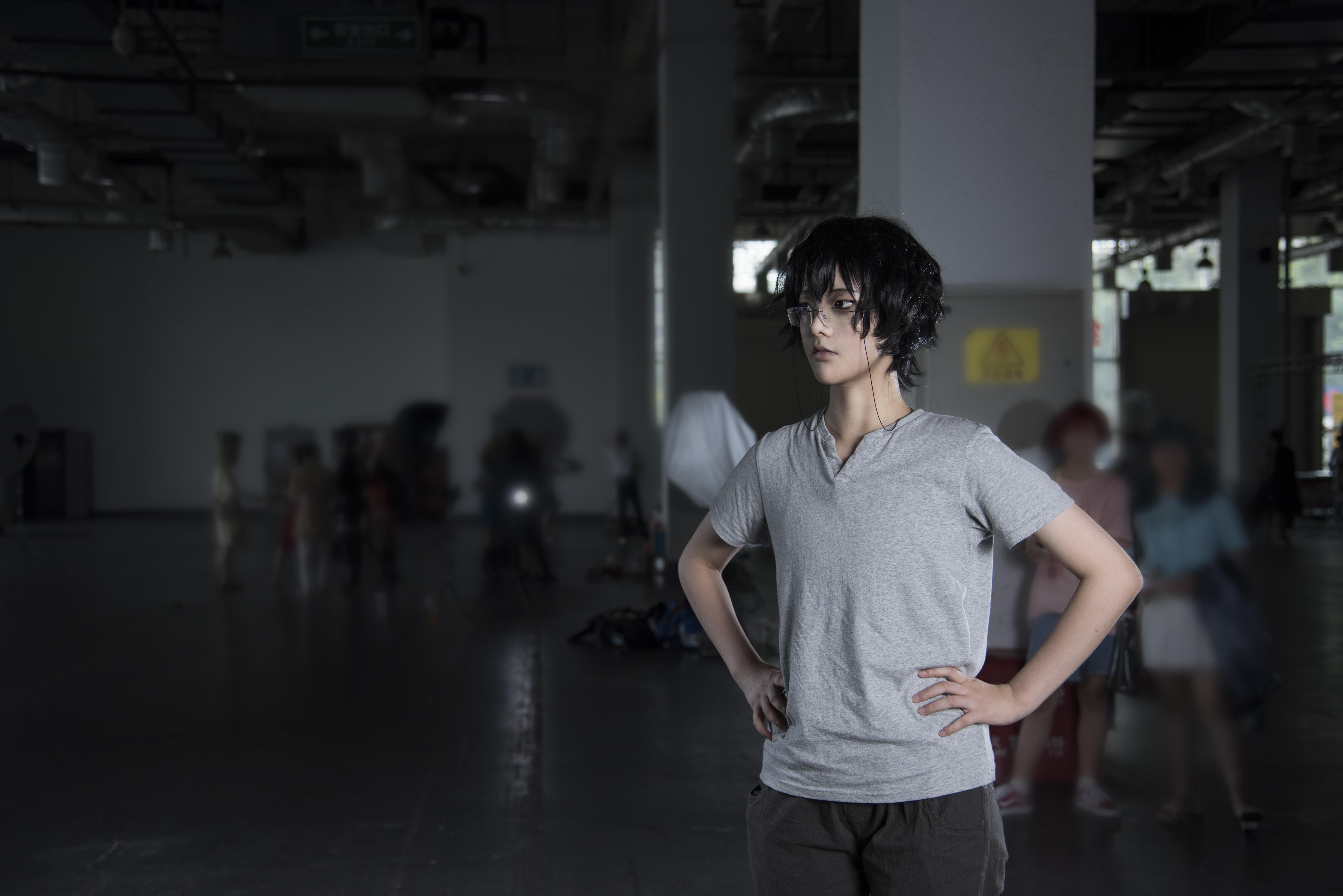 《非人哉》白泽cosplay【CN:曲鹤曲阿】-第3张