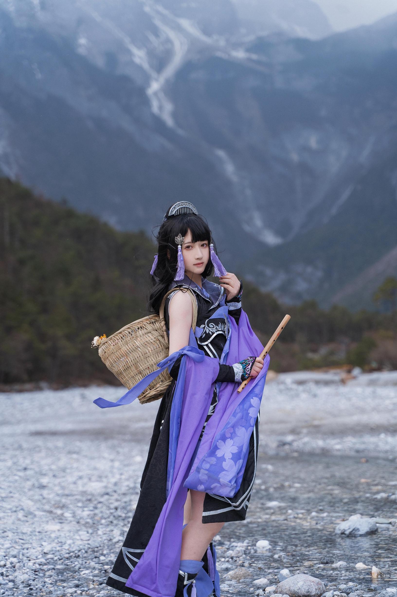 《剑侠情缘网络版叁》剑网三cosplay【CN:舞青不是清-】-第8张