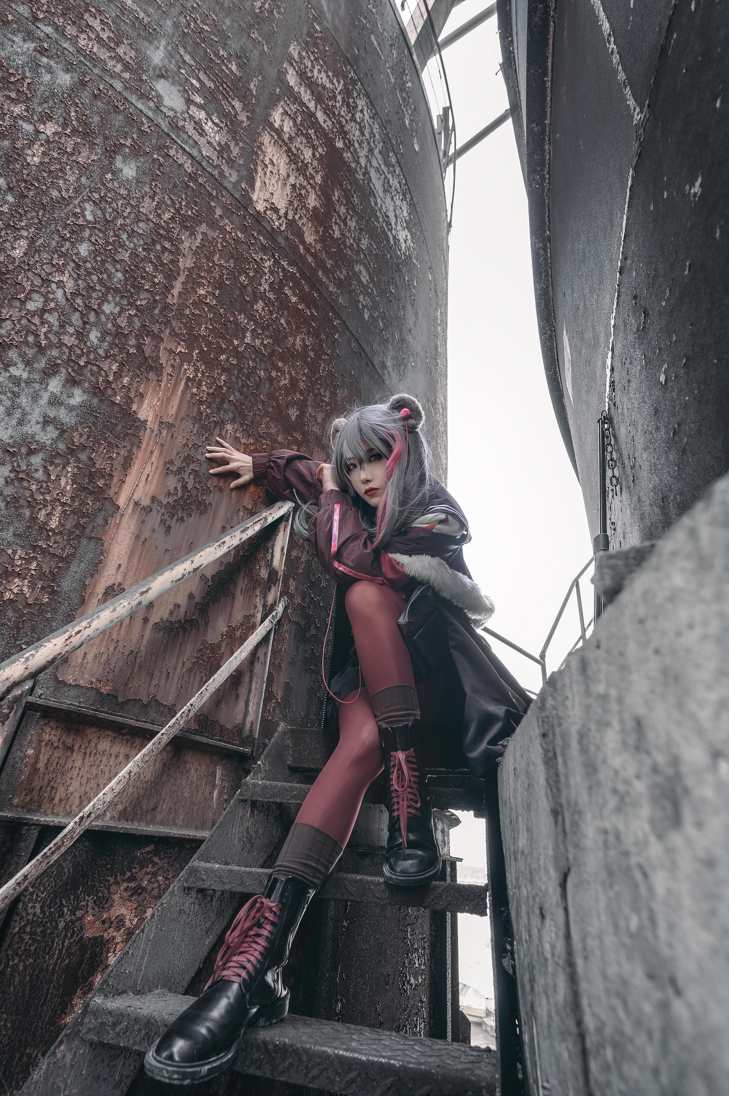 《明日方舟》正片cosplay【CN:小青姑娘闭关修炼中】-第11张