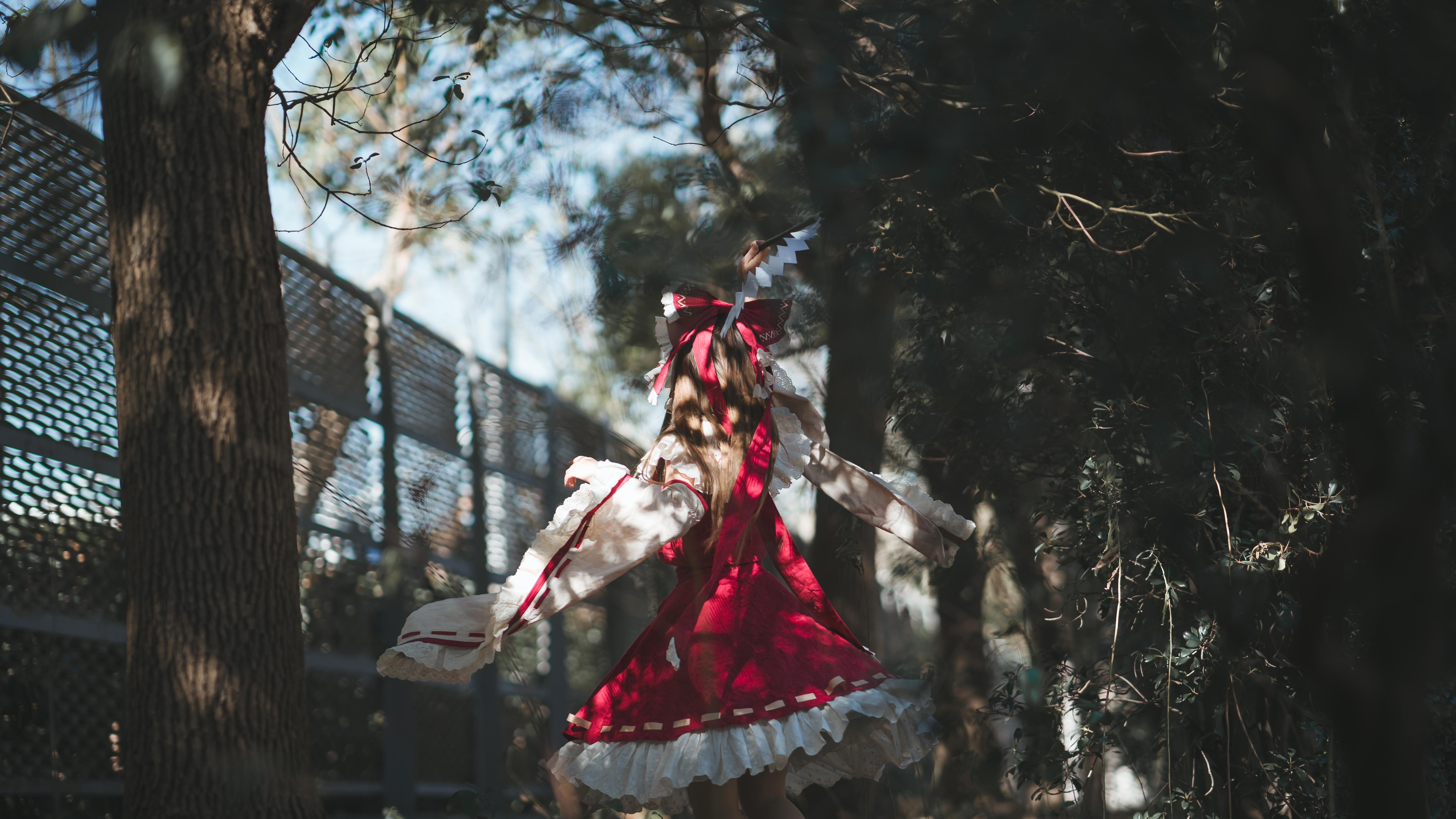 《东方PROJECT》漫展cosplay【CN:梨梨起床啊】-第5张