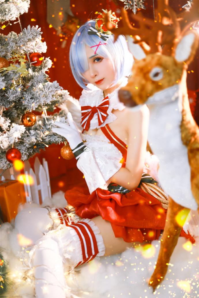 Re:从零开始的异世界生活   蕾姆   圣诞   @-颖儿w- (9P)-第4张