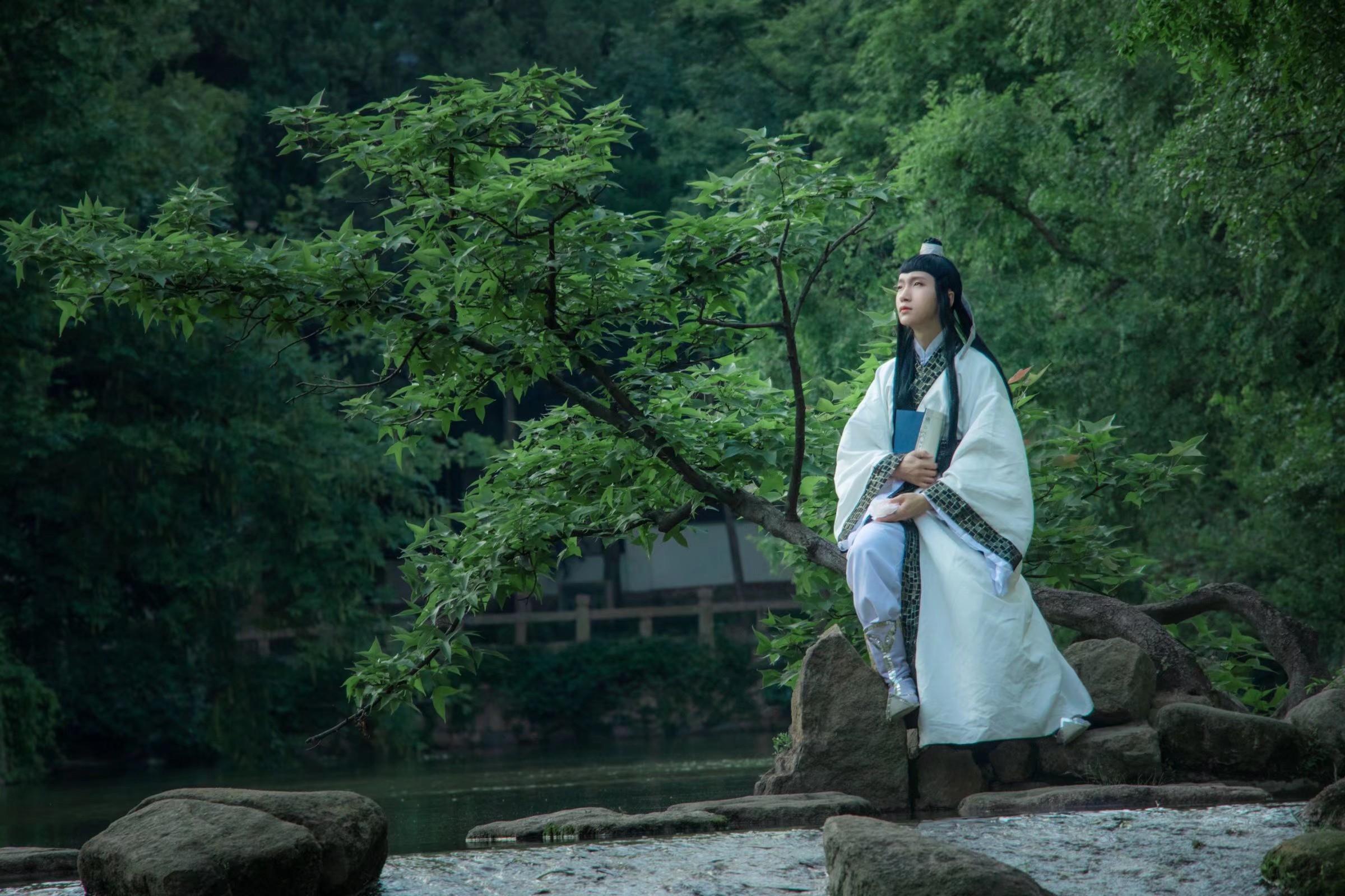 《游园惊梦》古风cosplay【CN:_仙鹤顶上红_】-第4张
