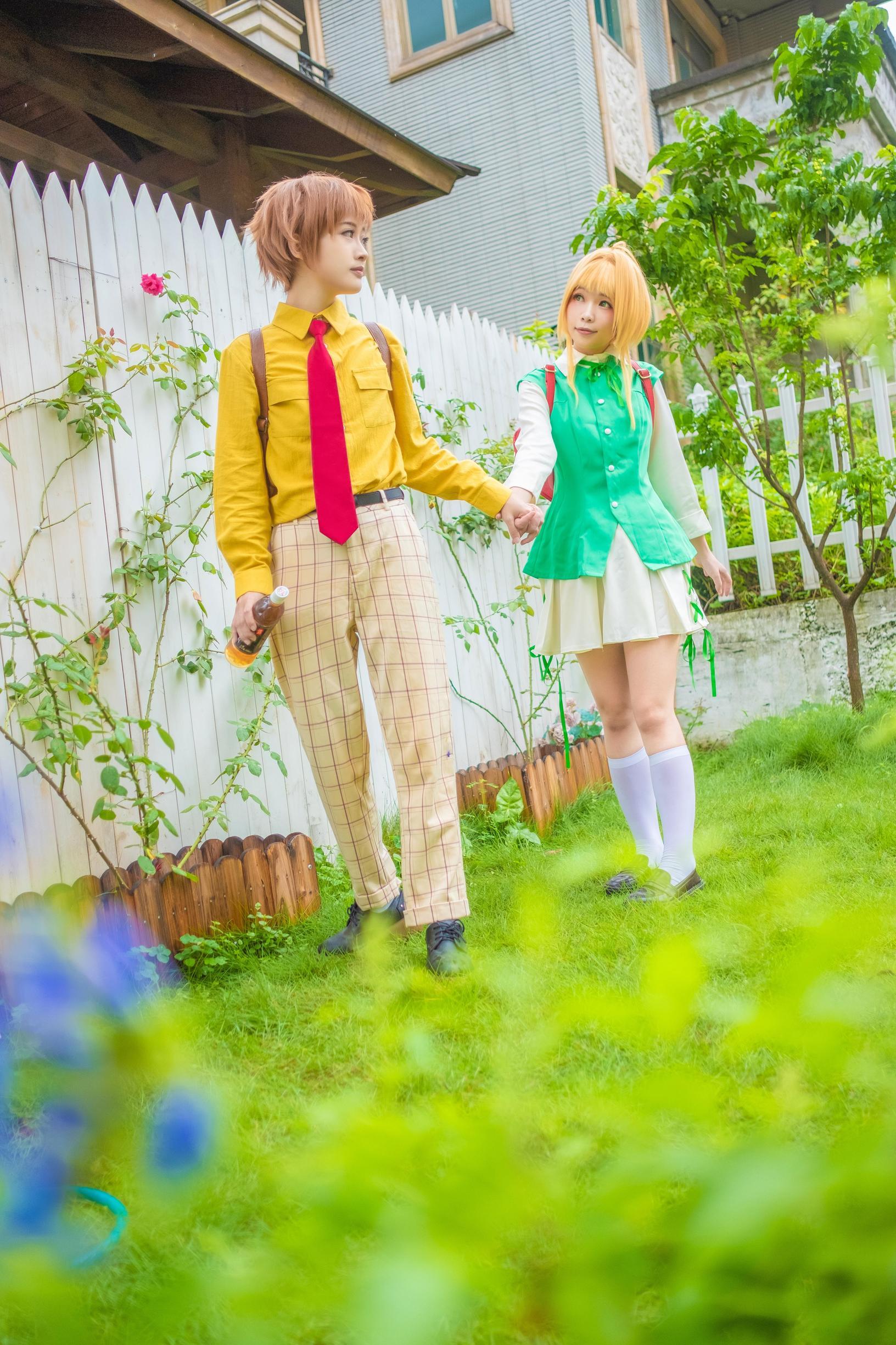 《魔卡少女樱》百变小樱cosplay【CN:海鲜君】-第1张