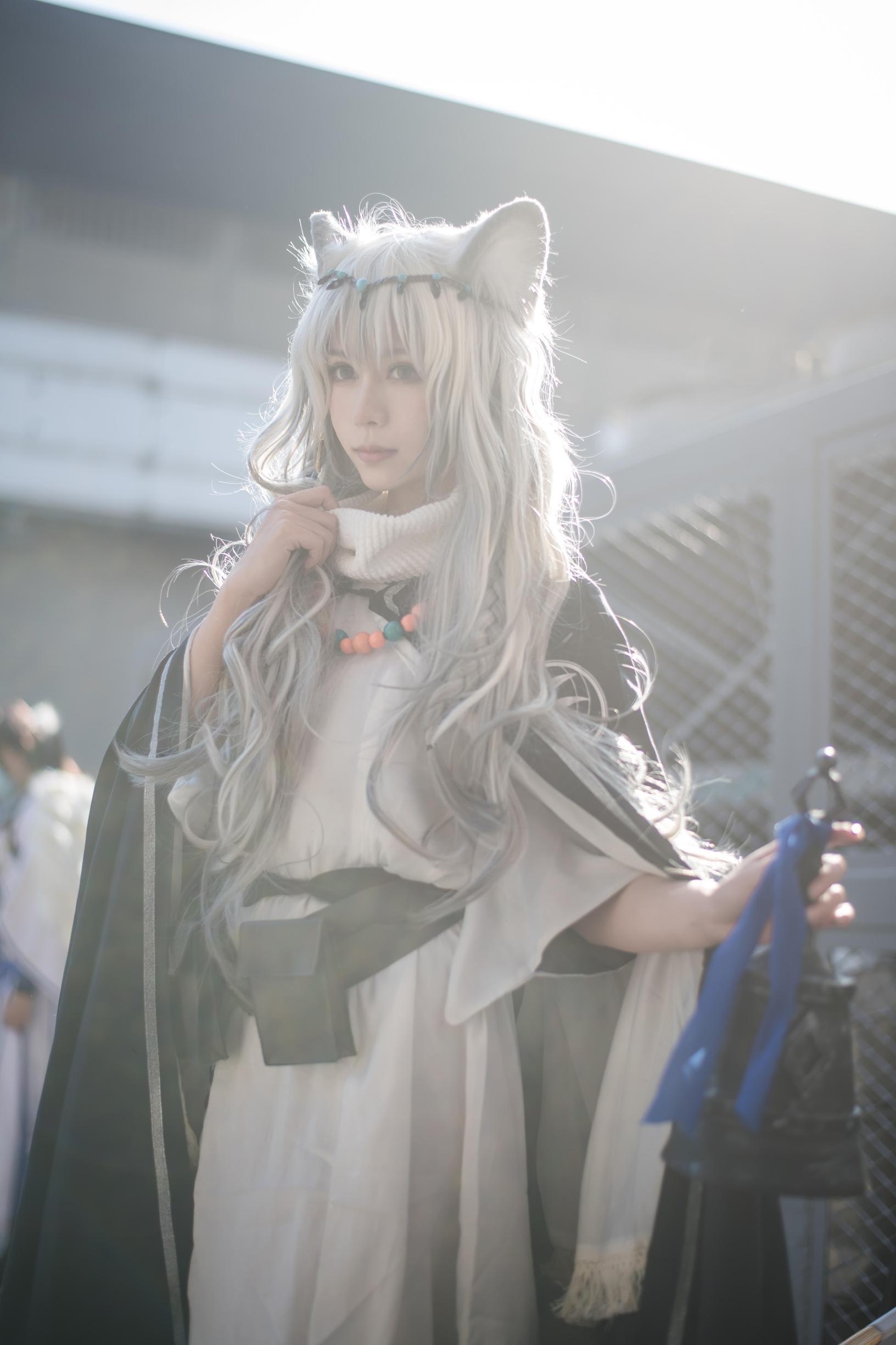 《明日方舟》漫展cosplay【CN:叶九九九九】-第4张