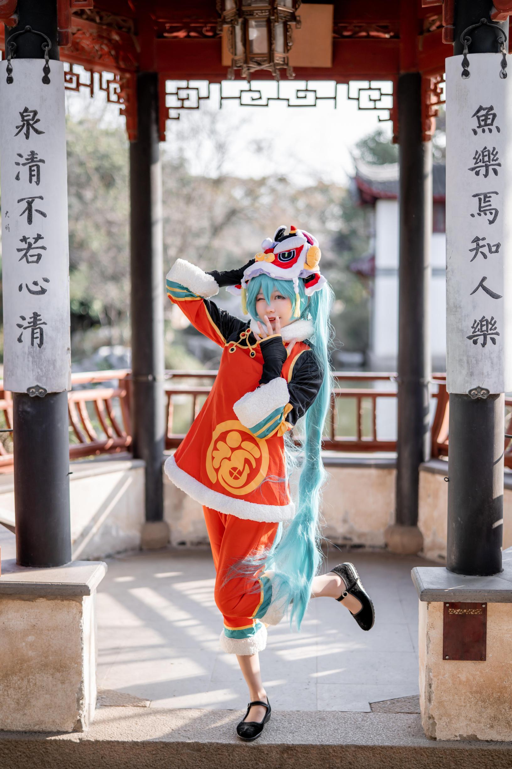 《VOCALOID》正片cosplay【CN:_天小然_】-第2张