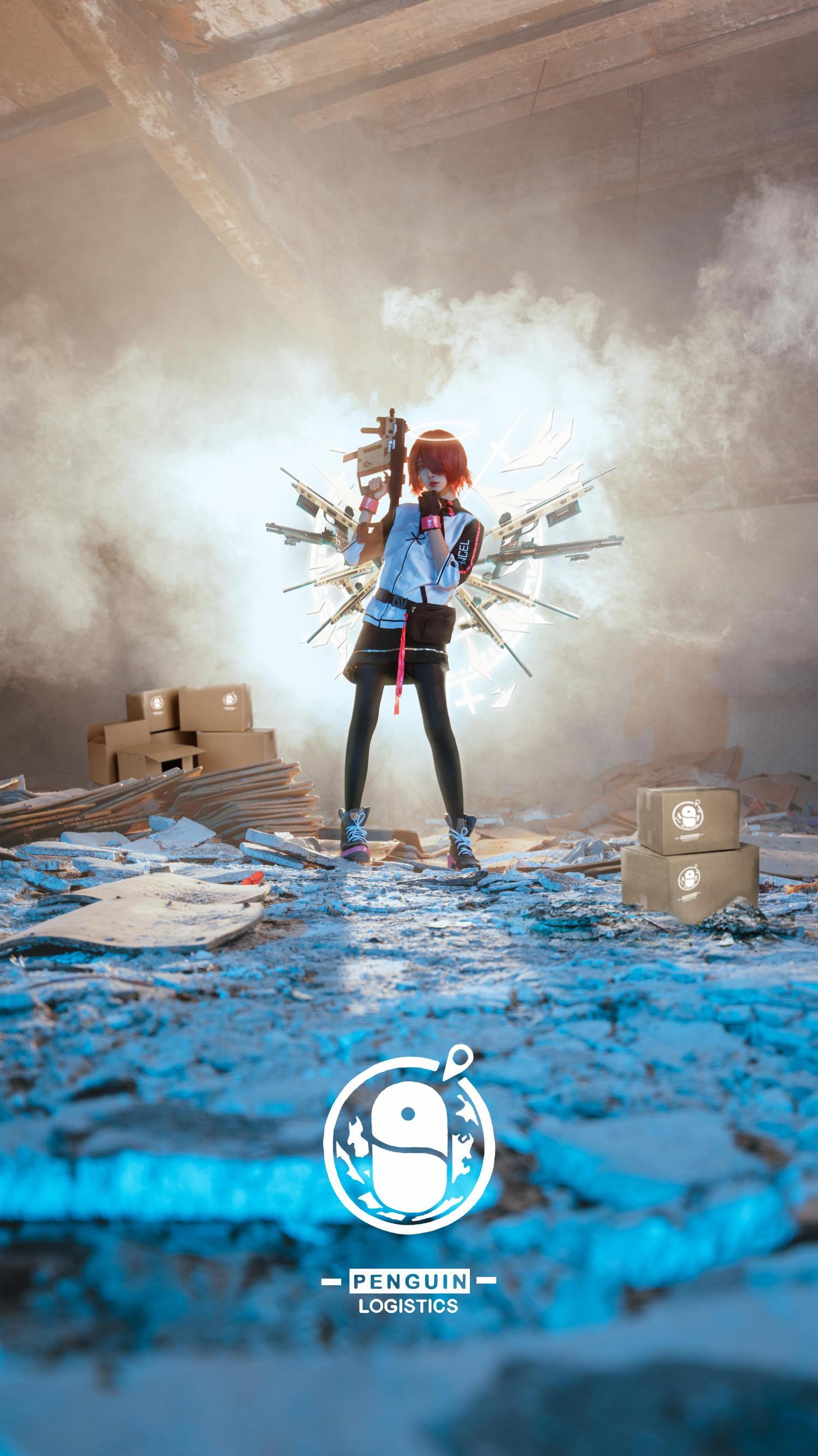 《明日方舟》正片cosplay【CN:妖君白研】-第18张