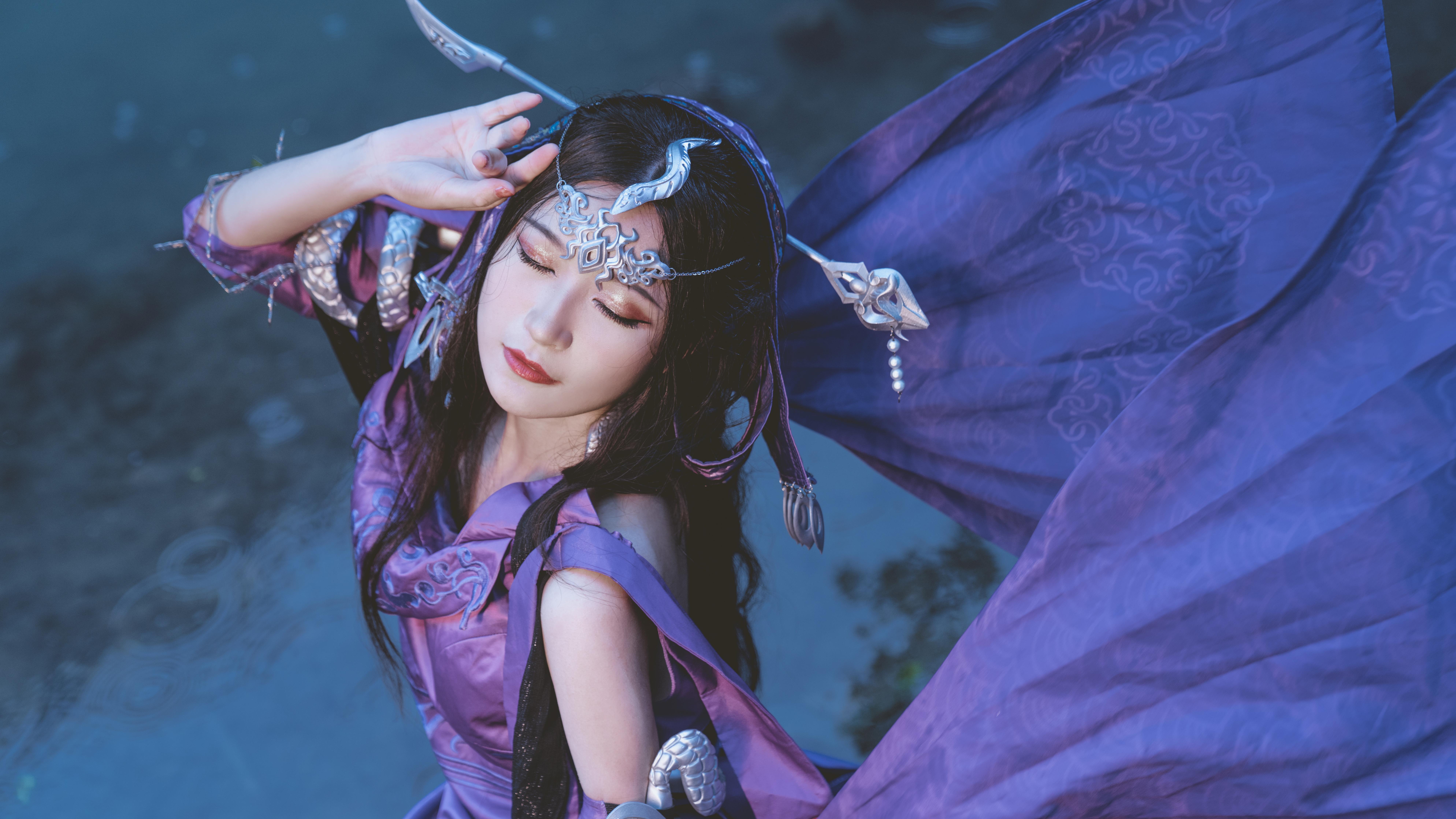 《剑侠情缘网络版叁》游戏cosplay【CN:挽挽今天修图了么】-第3张