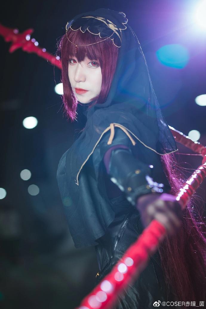 Fate/Grand Order   斯卡哈   @COSER赤瞳_菌 (9P)-第3张