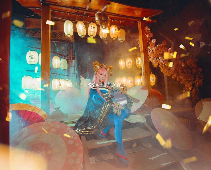 [COS]FGO   玉藻前   @仙九Airi_ (9P) -哪吒的cosplay图片插图