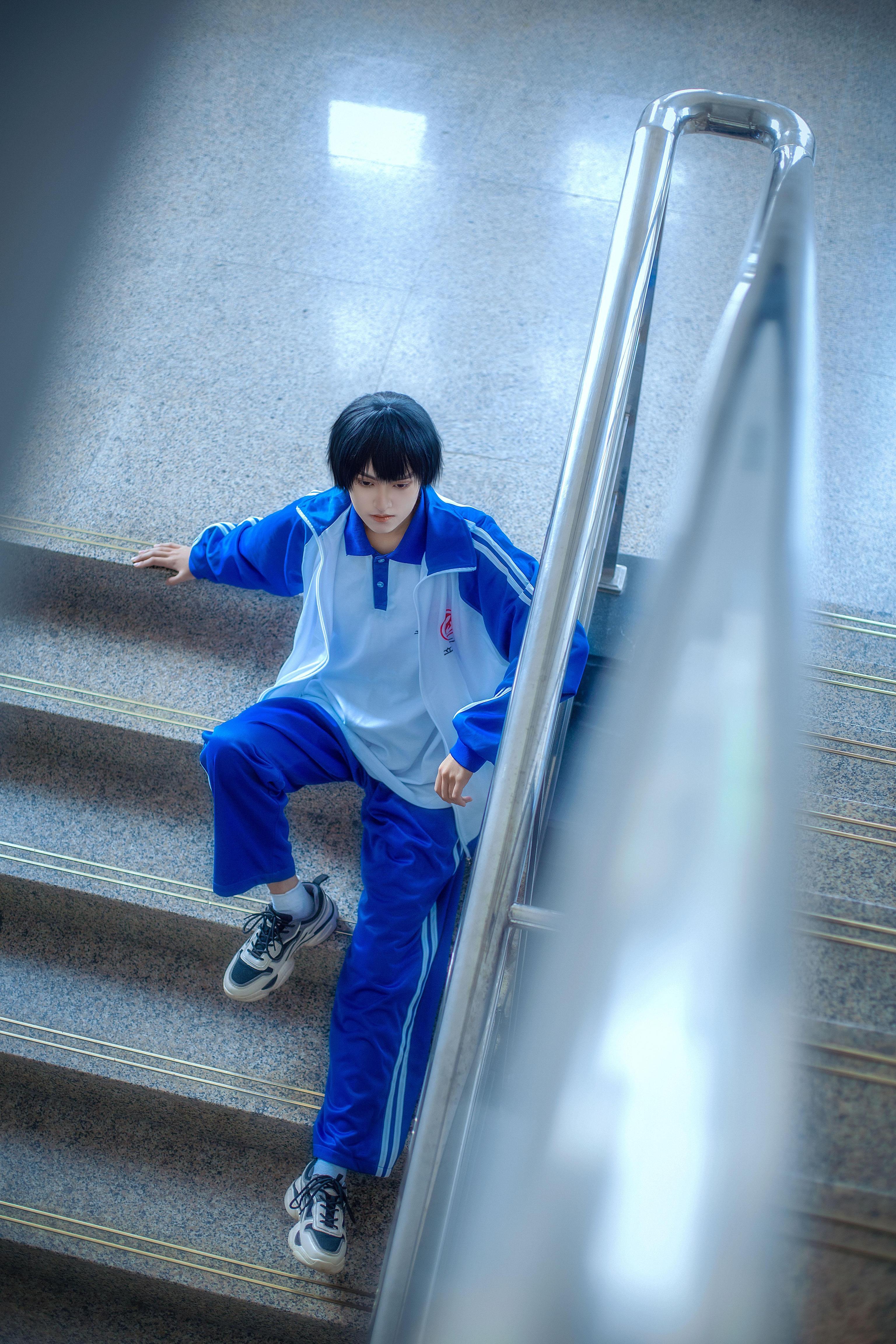 《伪装学渣》正片cosplay【CN:古童童童】-第14张
