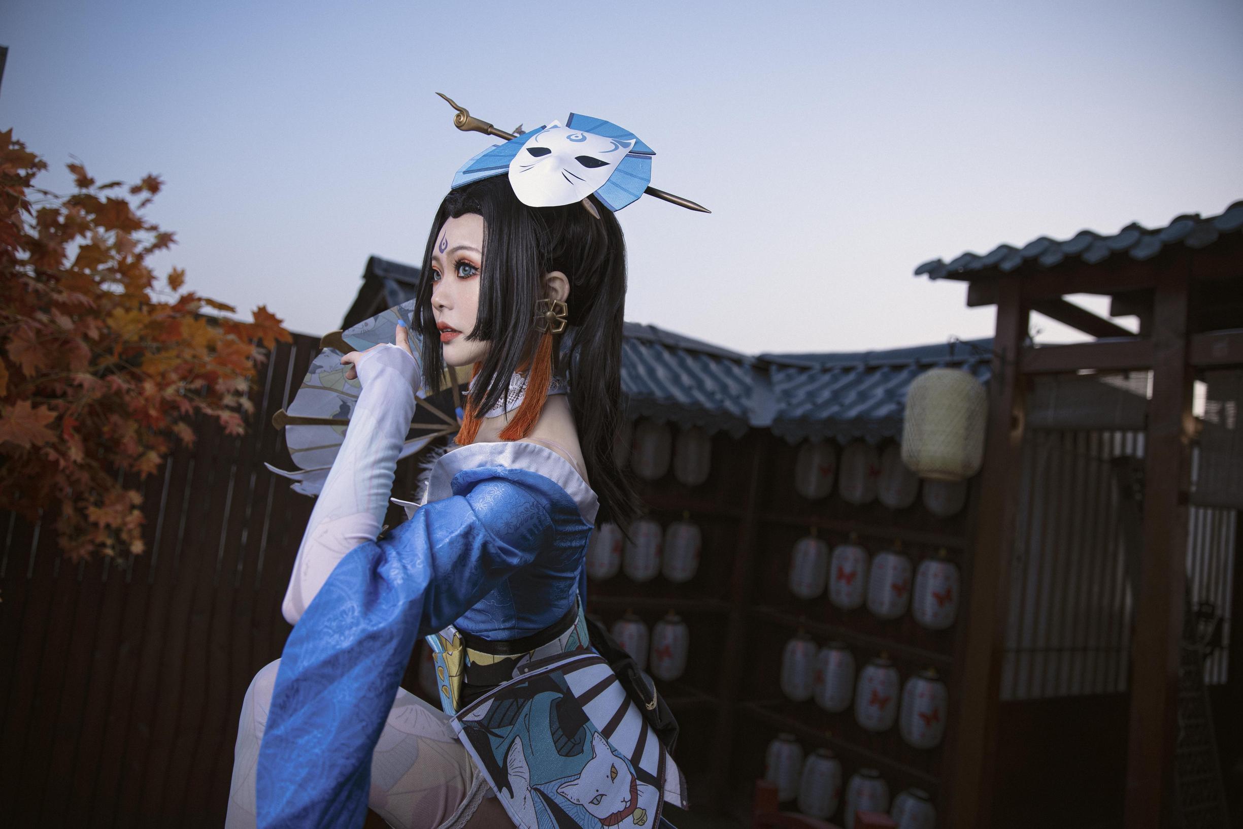 《王者荣耀》不知火舞cosplay【CN:阿琴Cc】-第2张