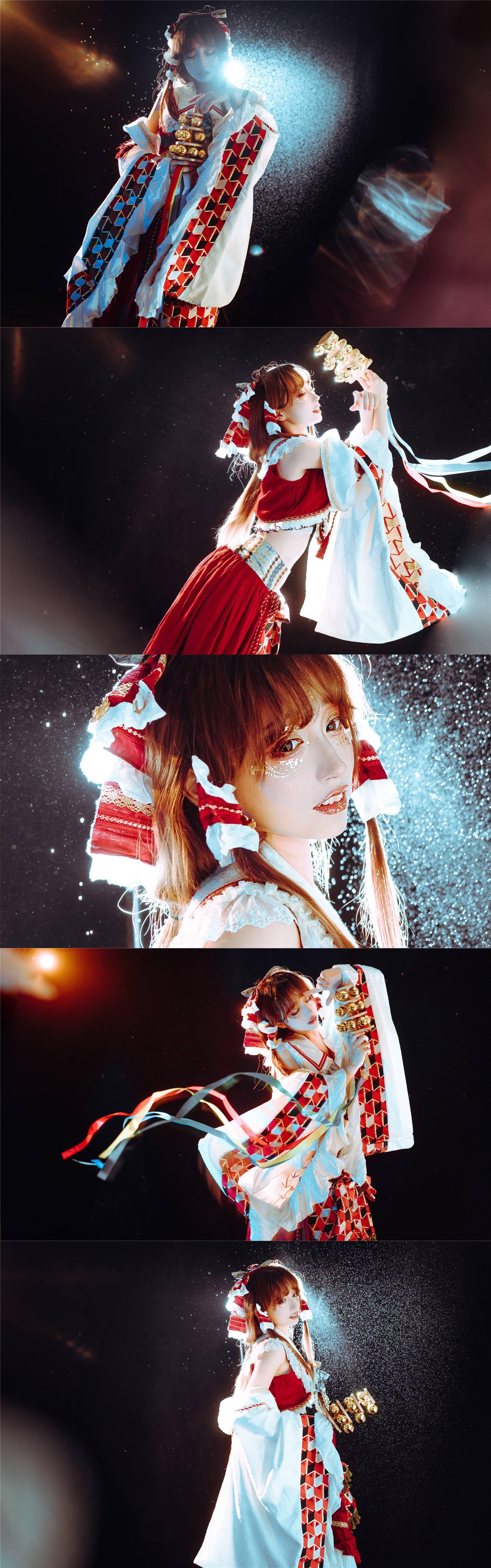 《东方PROJECT》博丽灵梦cosplay【CN:梨梨起床啊】-第3张