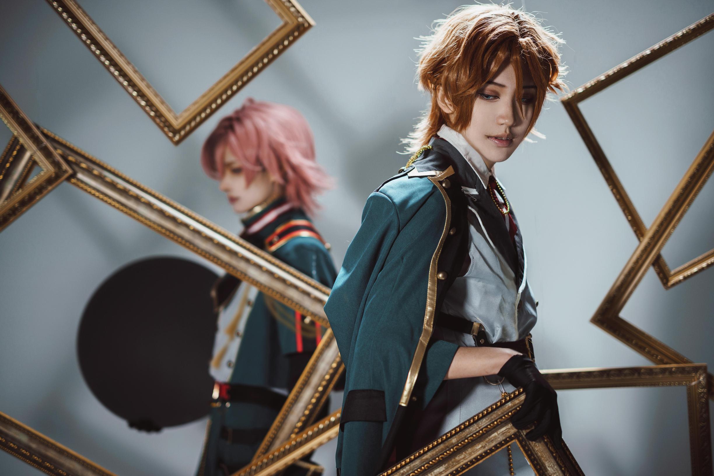 《偶像梦幻祭》琥珀cosplay【CN:小咩Mitsuki】 -安琪拉cosplay图片高清插图