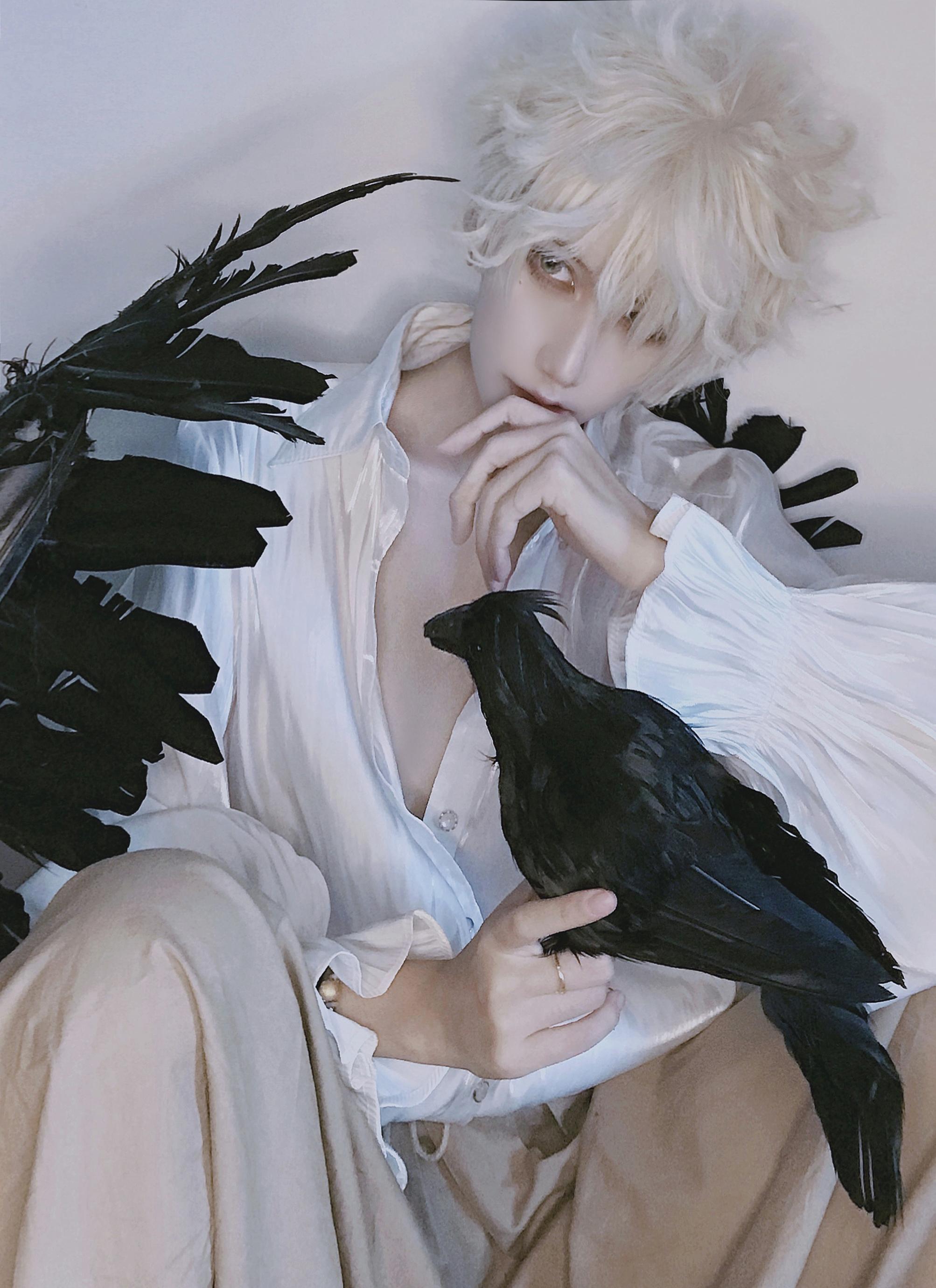 试妆cosplay【CN:斑厂长和囧天两个小垃圾】-第3张