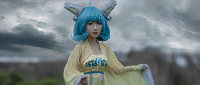《王者荣耀》神还原cosplay【CN:cn小昂】 -苍月战士cosplay图片插图