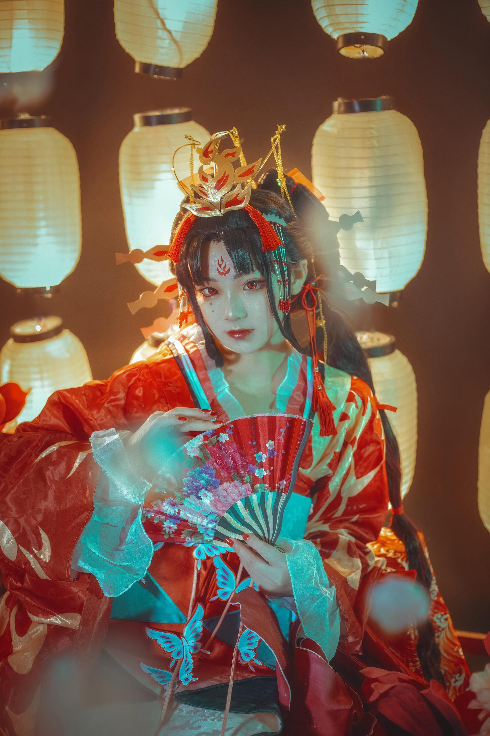 阴阳师cosplay【CN:箜篌Rainco】-第13张