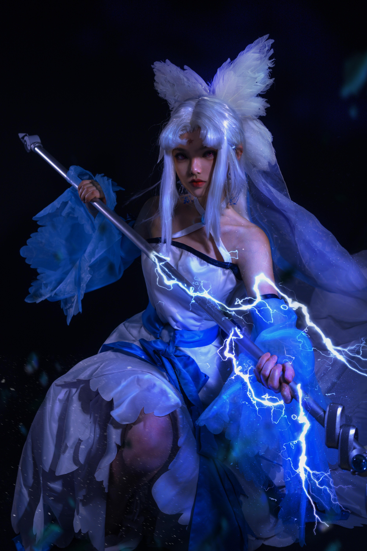 《三眼哮天录》正片cosplay【CN:茶籽籽籽】-第10张